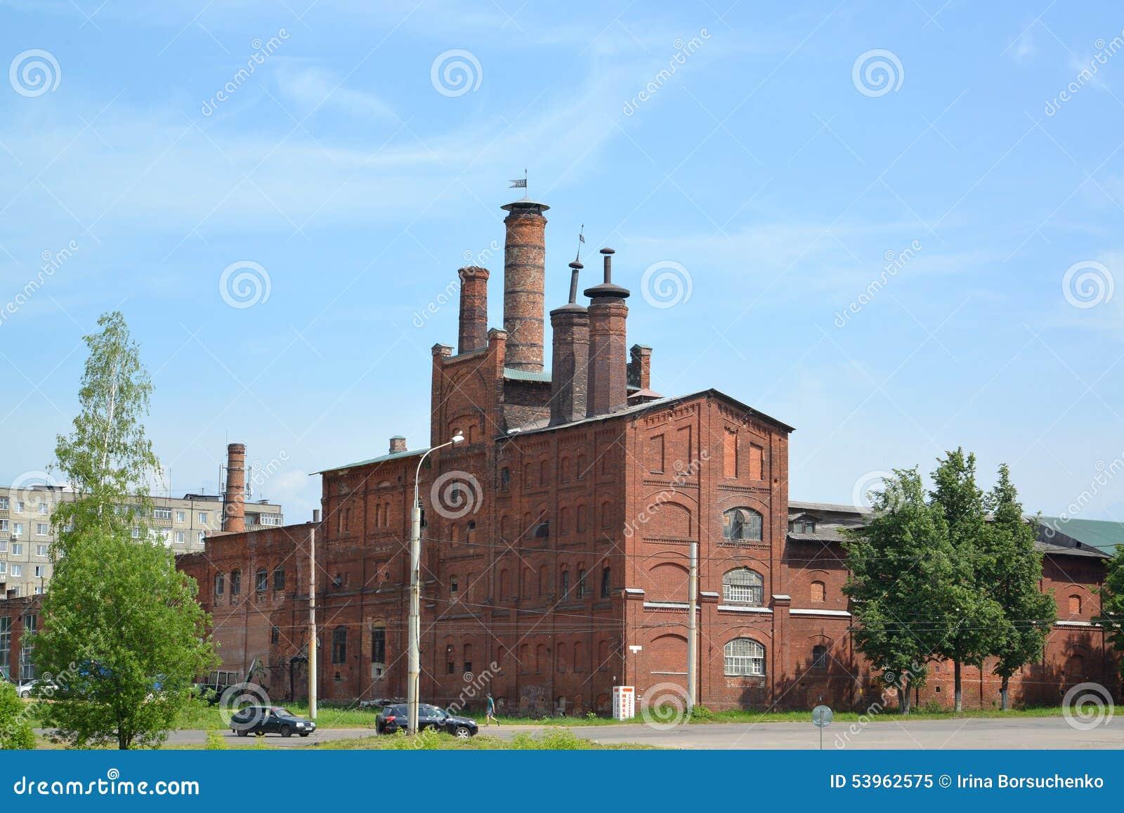 Rybinsk, Russland Alte Brauerei (1877) im Sommer