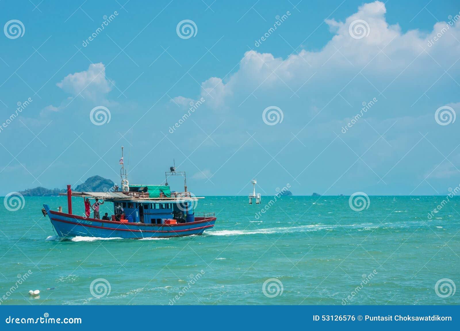Rybołówstwo łódź
