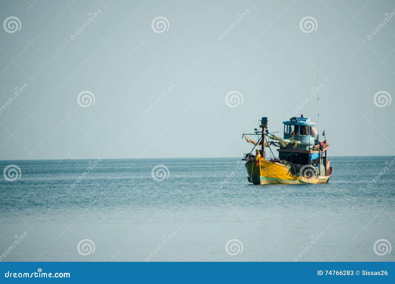 Rybołówstwo statek