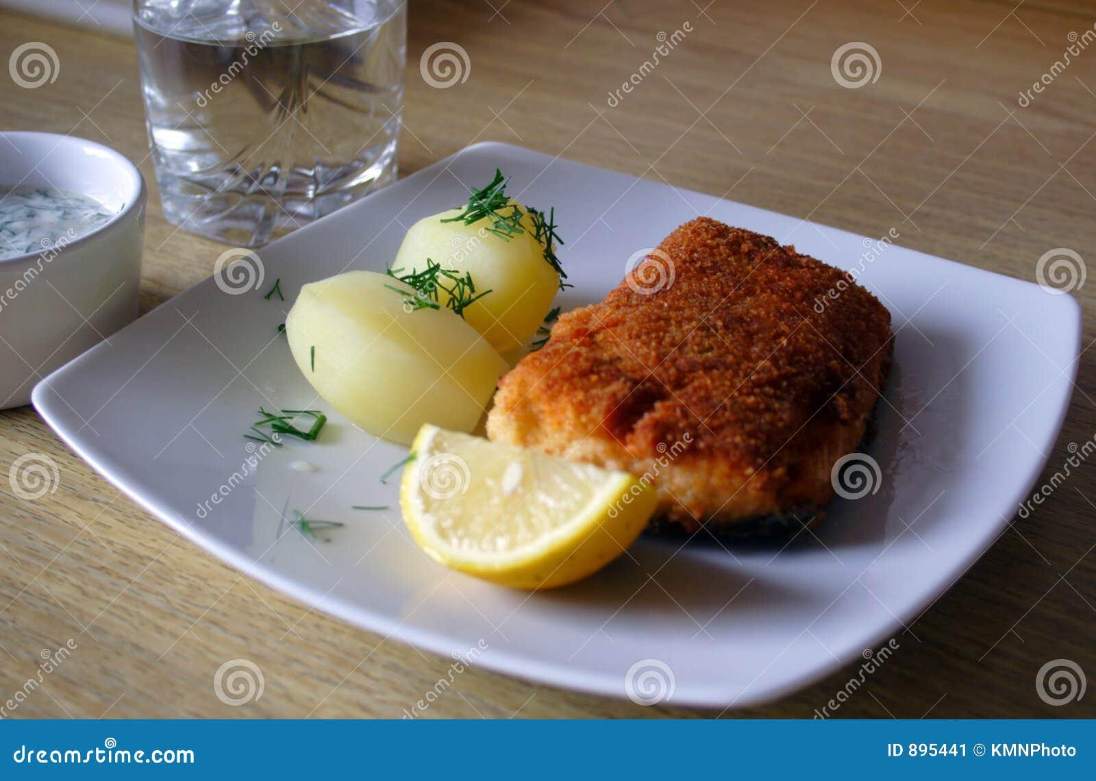Ryby podparty salmon