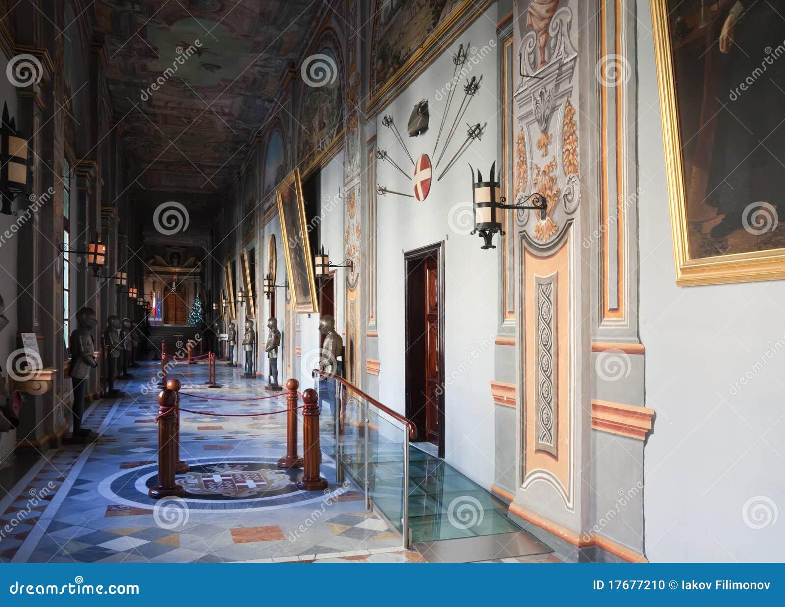 Rycerza wewnętrzny pałac s