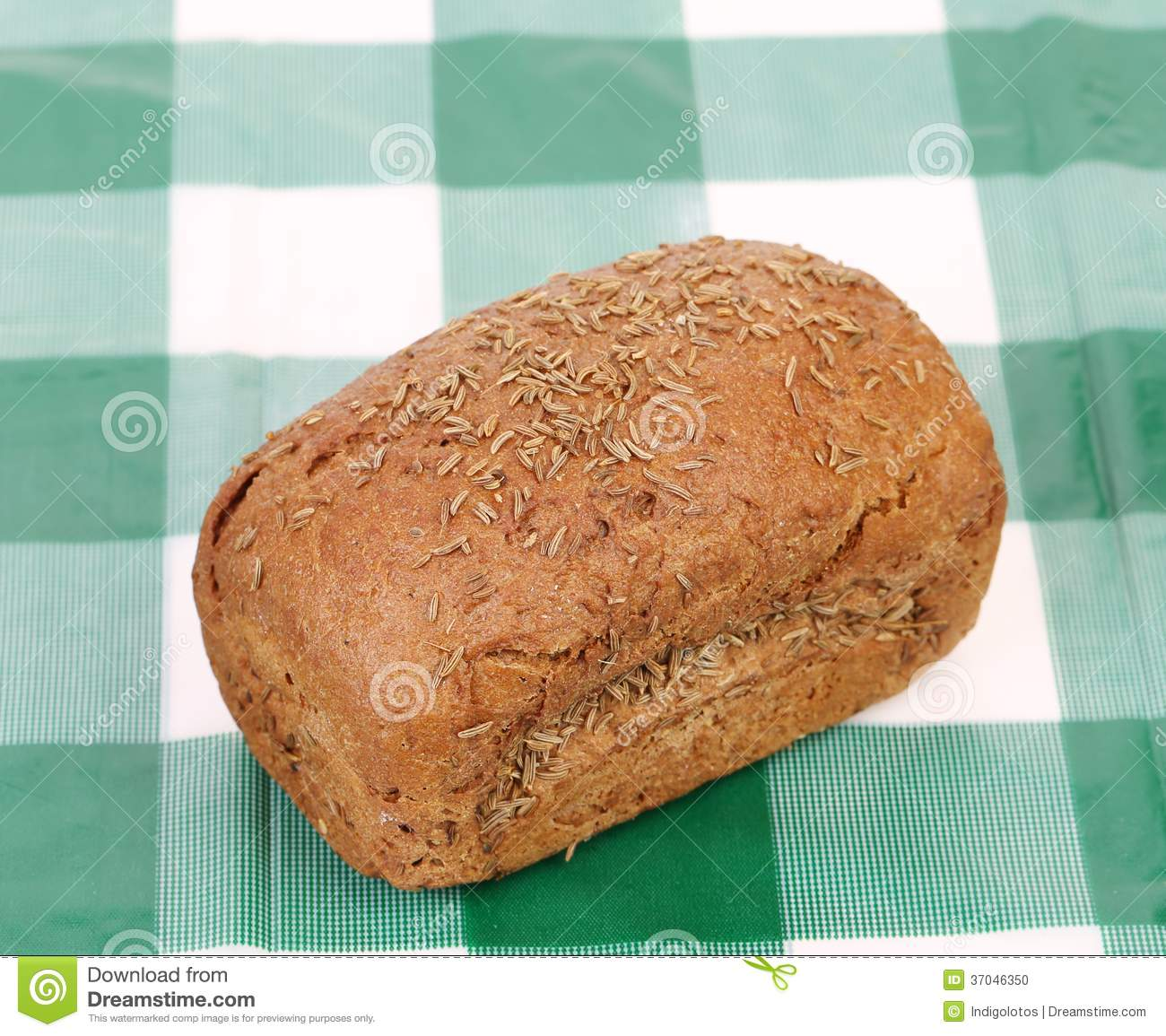 Rye Bread With Caraway Seed. Stock Photo - Image: 37046350