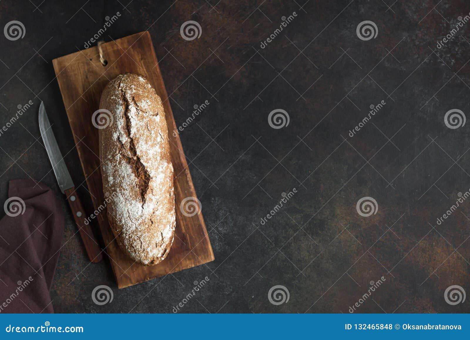 Rye bread stock photo  Image of recipe, grain, loaf - 132465848
