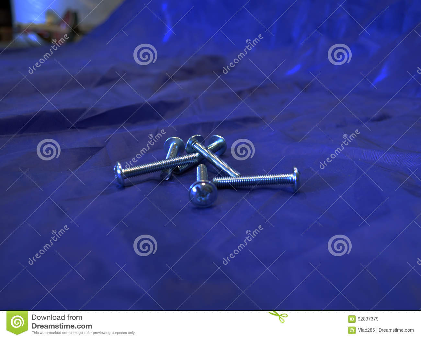 Rygle na błękitnym tle