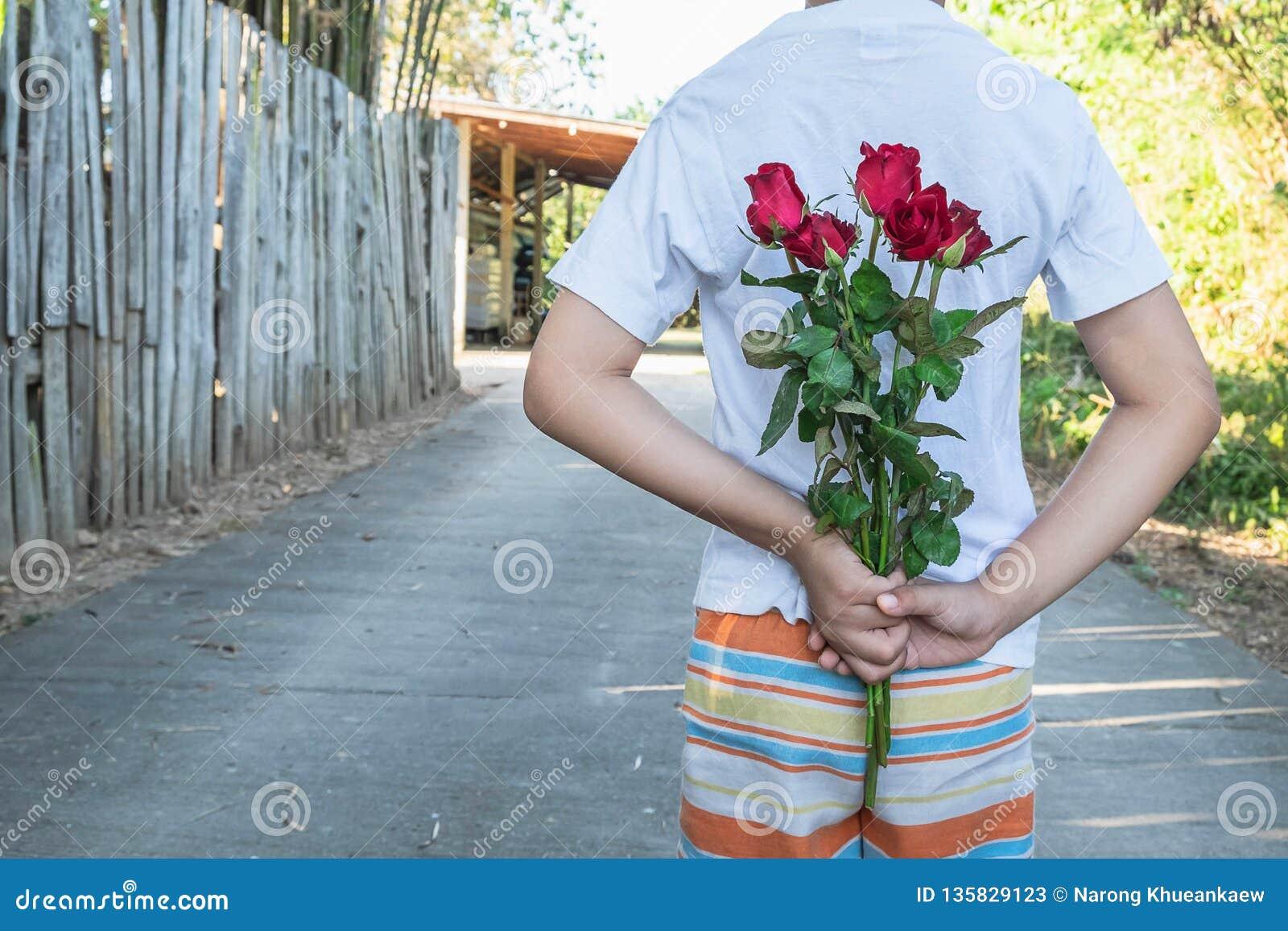 Rymma en ros, överraskning på valentin dag