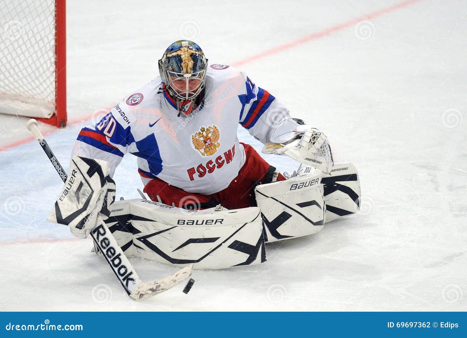 Rysk goalie för ishockeylag