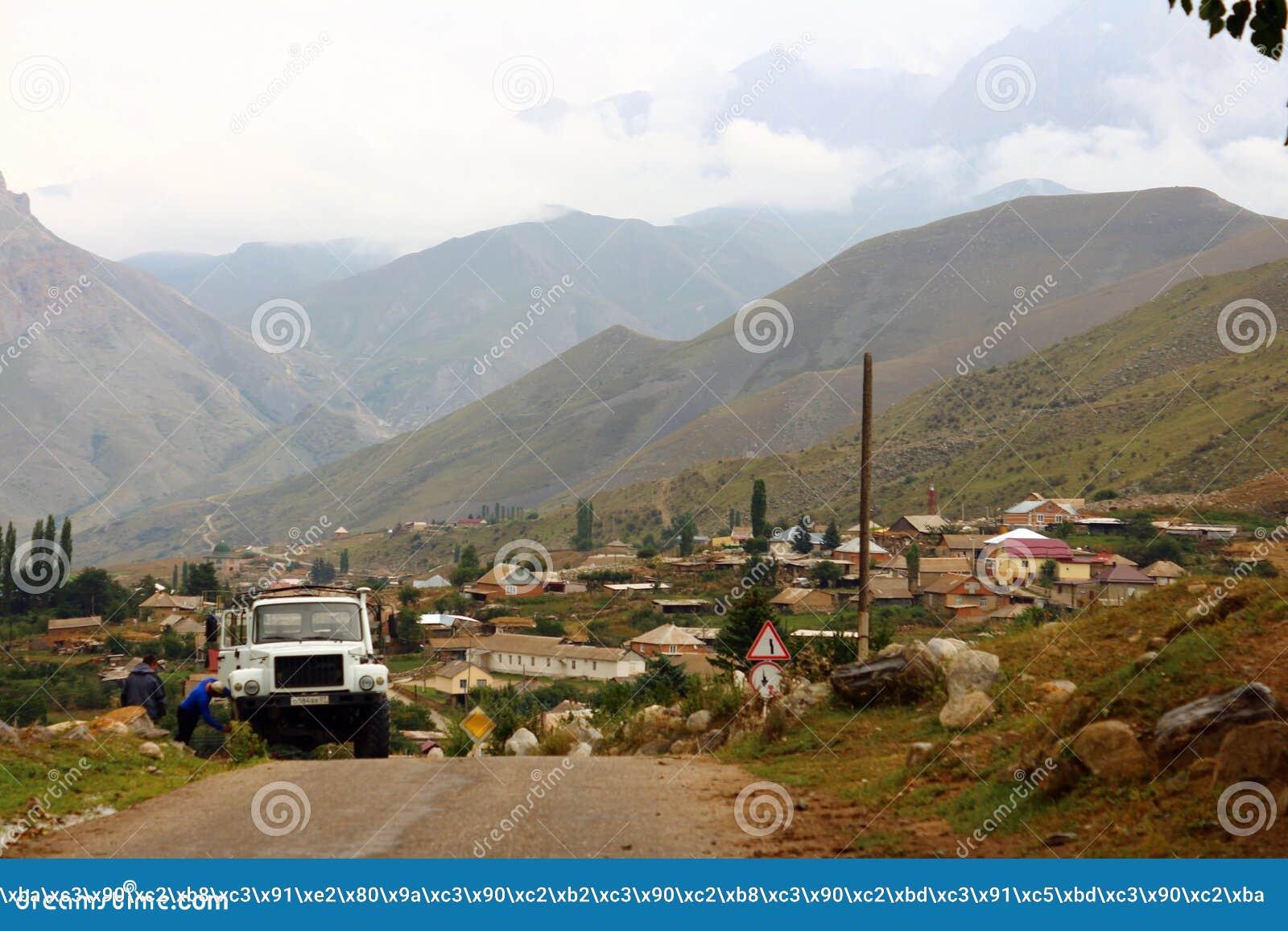 Ryssland Kabardino-Barkar republik Chegem paradrome var drömmar kommer riktigt, flyg över jorden!!!