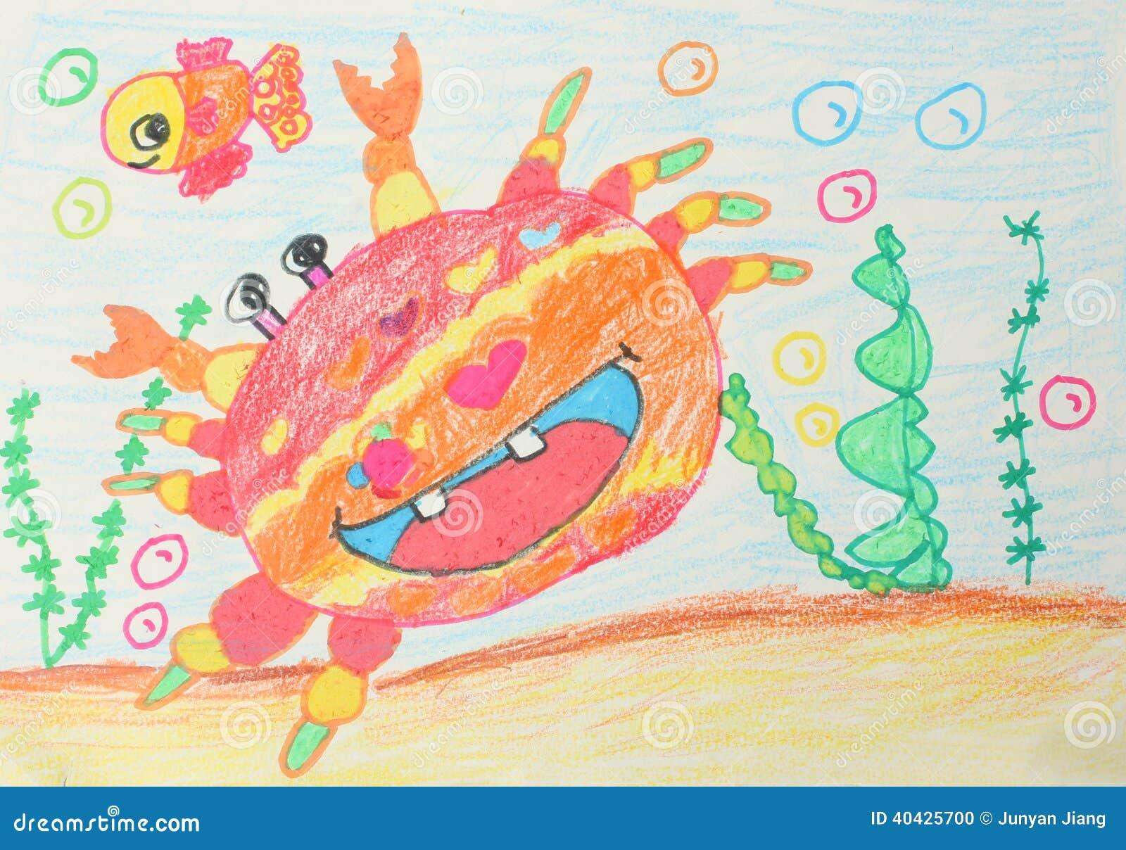 Rysunki Dzieci Ilustracji Ilustracja Złożonej Z Dzieciństwo 40425700