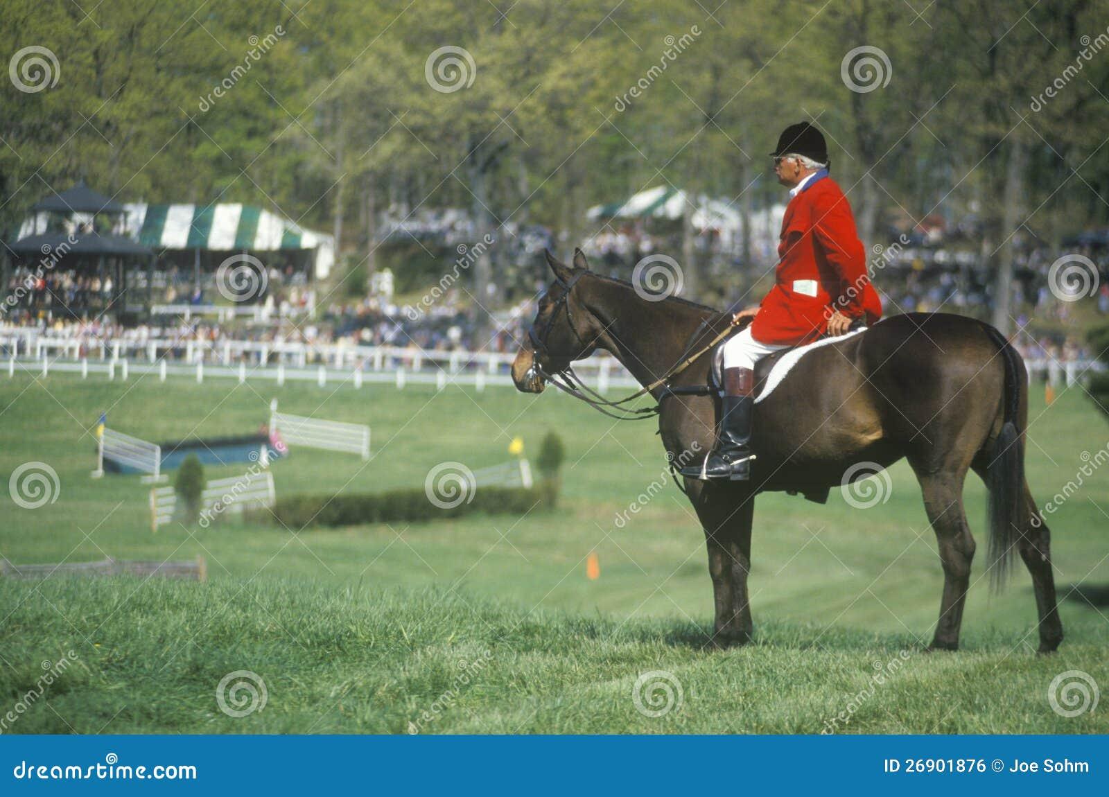 Ryttare på hästrygg