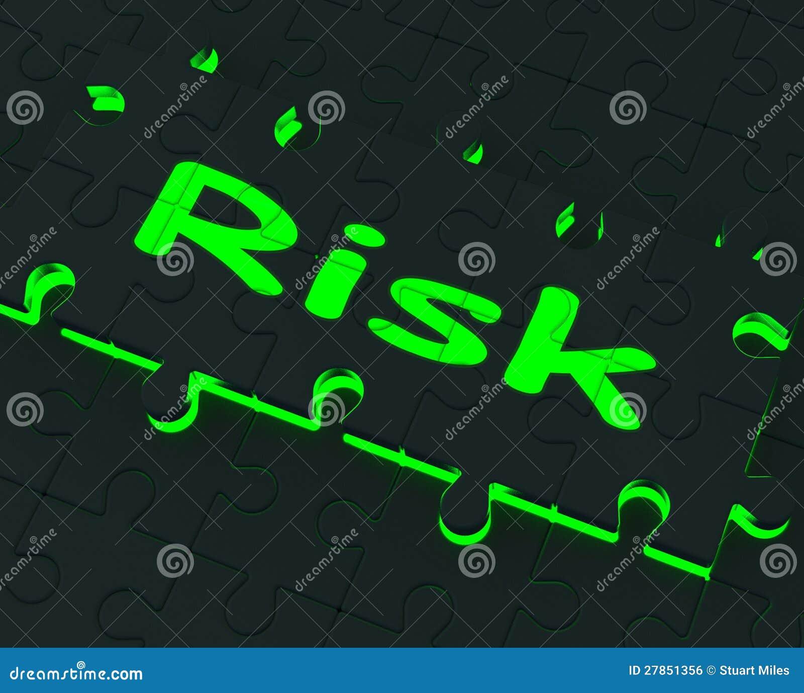 Ryzyko łamigłówka I Niebezpieczny Pokazujemy niebezpieczeństwo
