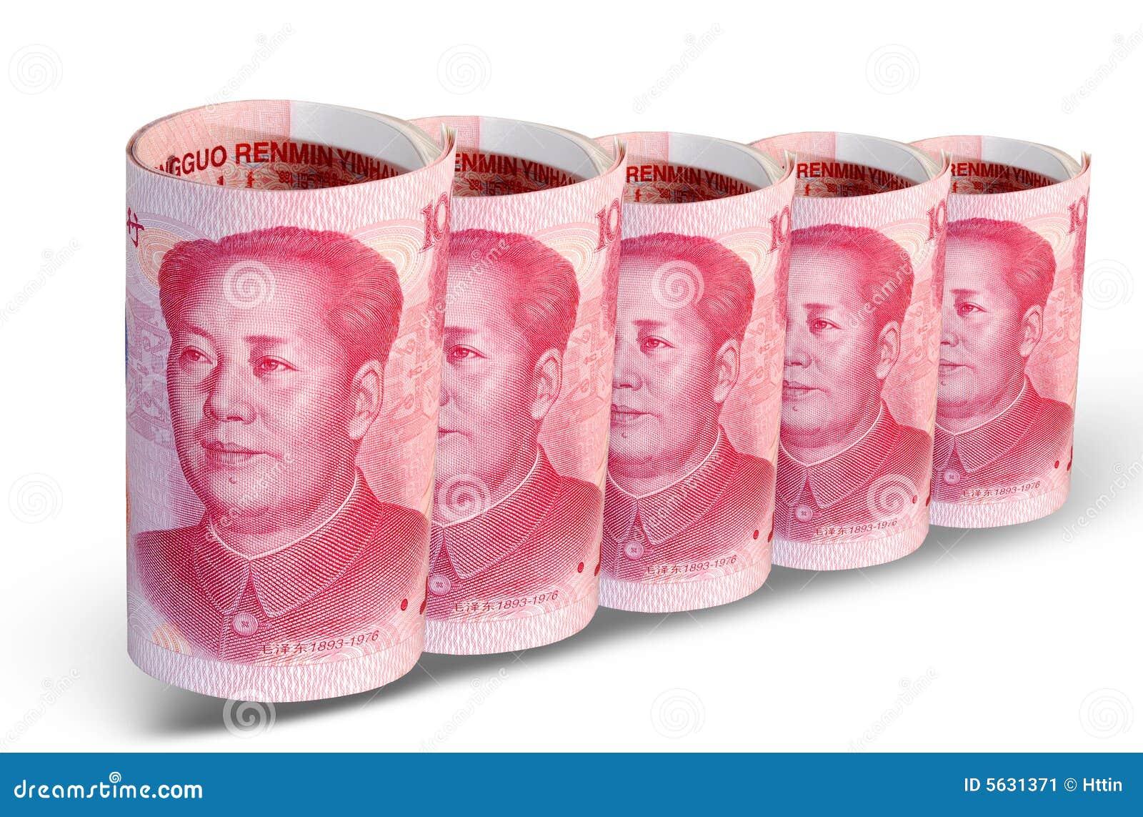 Rząd chin pieniądze