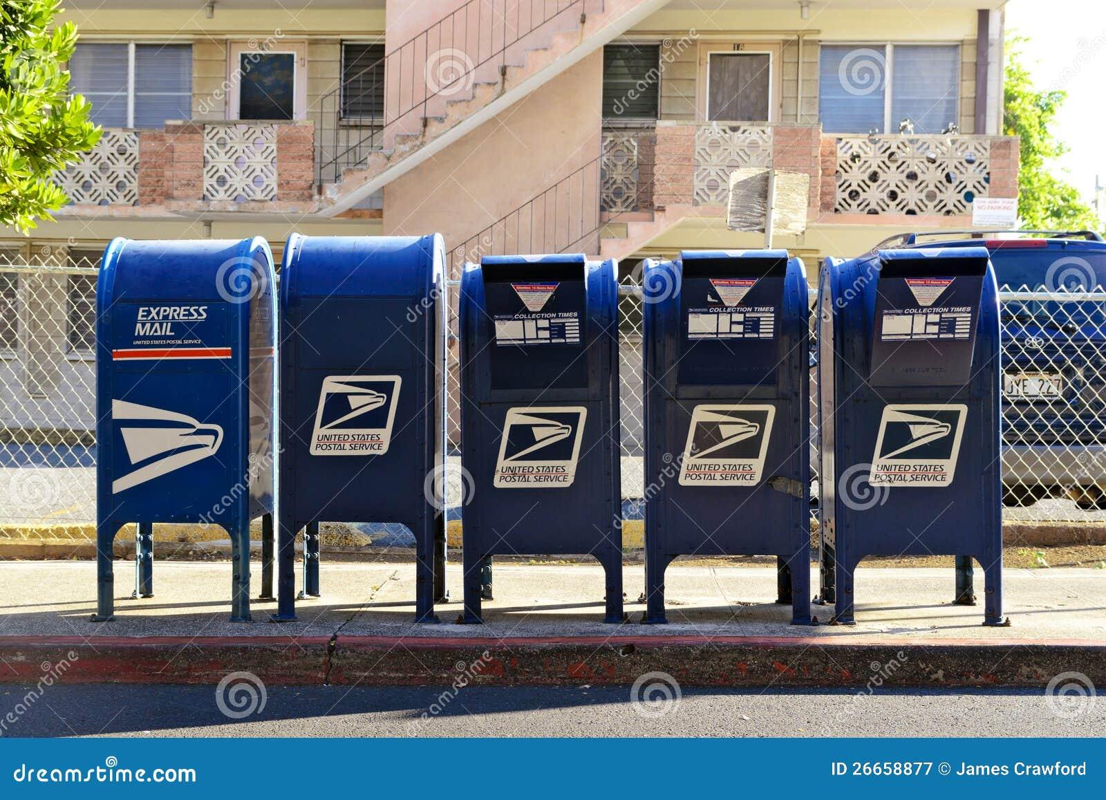 Rząd skrzynka pocztowa