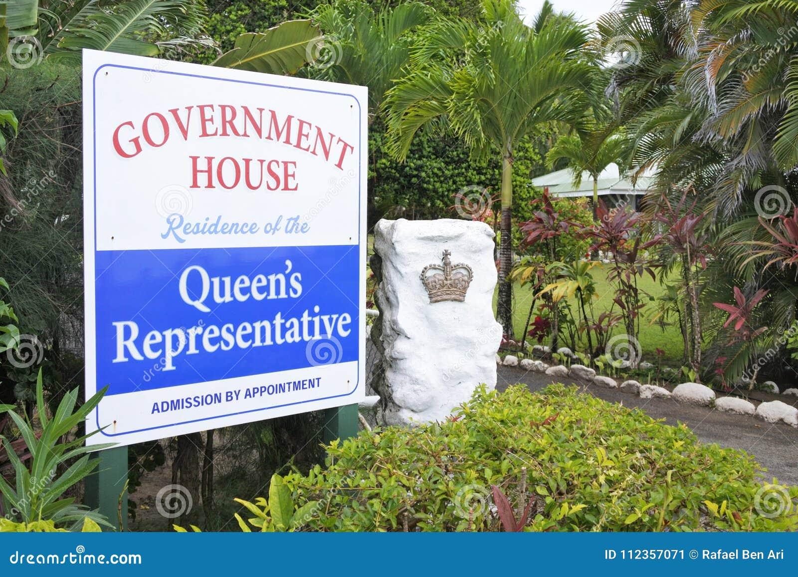 Rzędu Rarotonga Domowe Kucbarskie wyspy