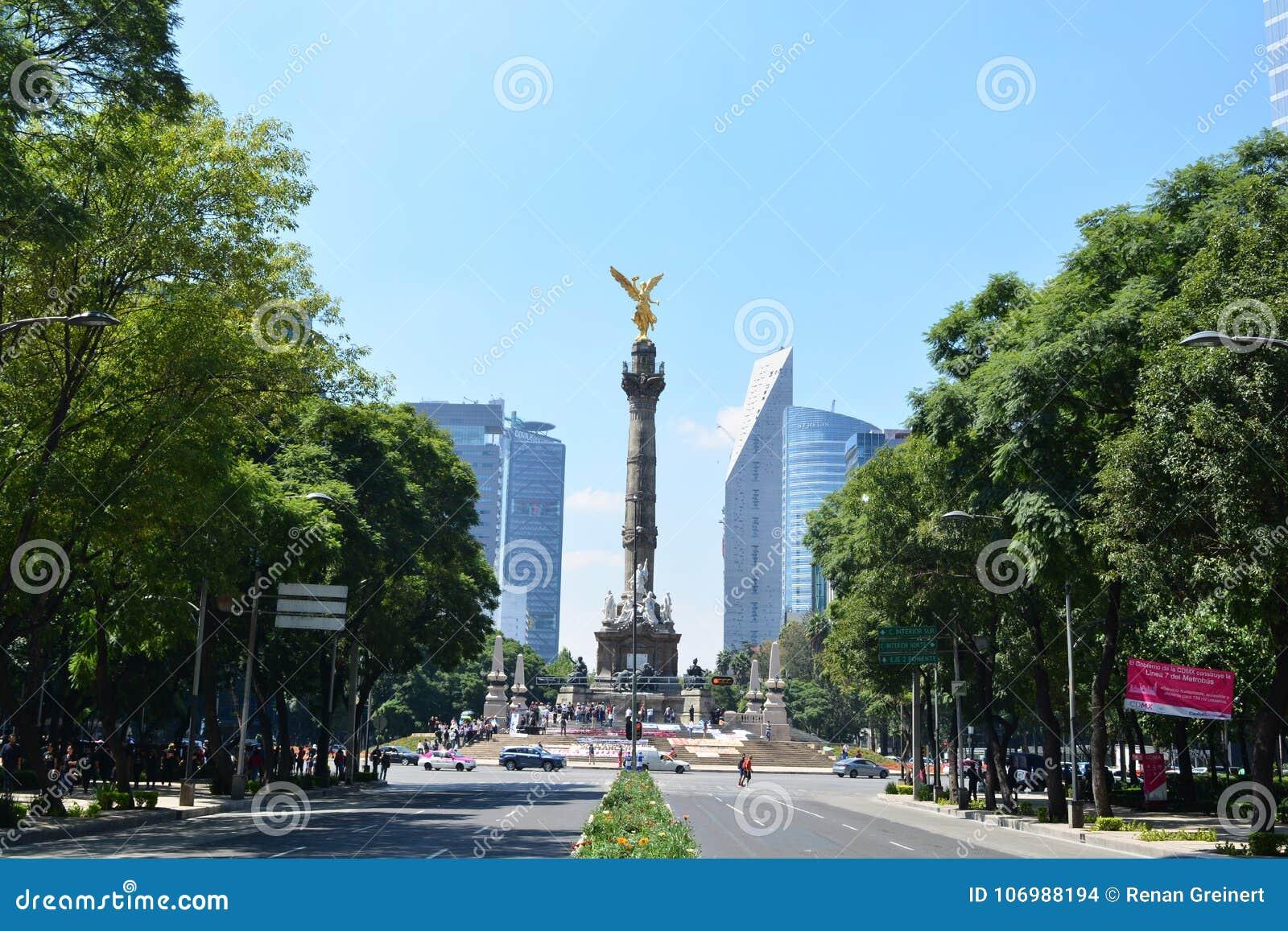 Rzeźba Anioł De Los angeles Independencia w Meksyk,