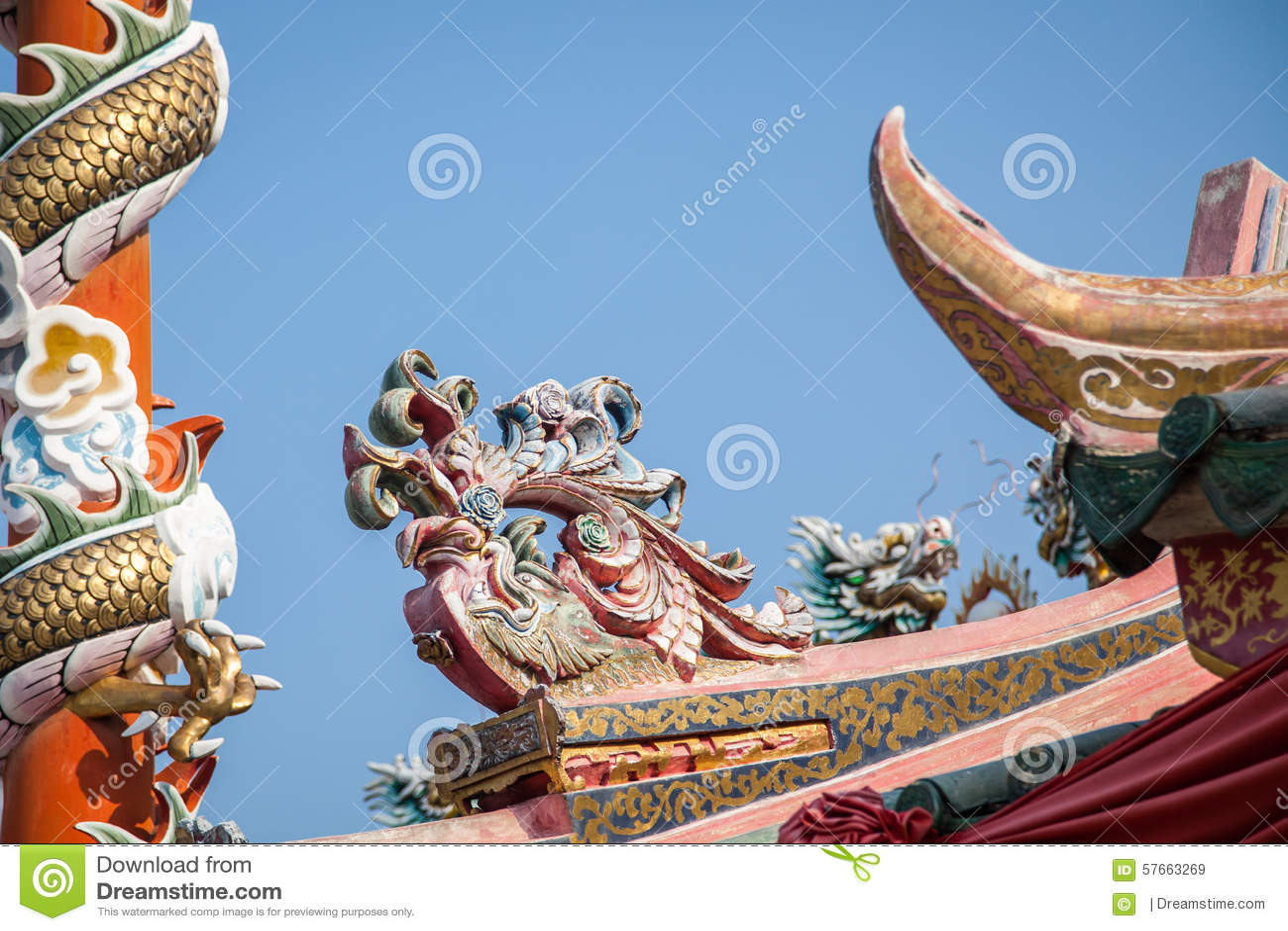 Rzeźba Chiński smok