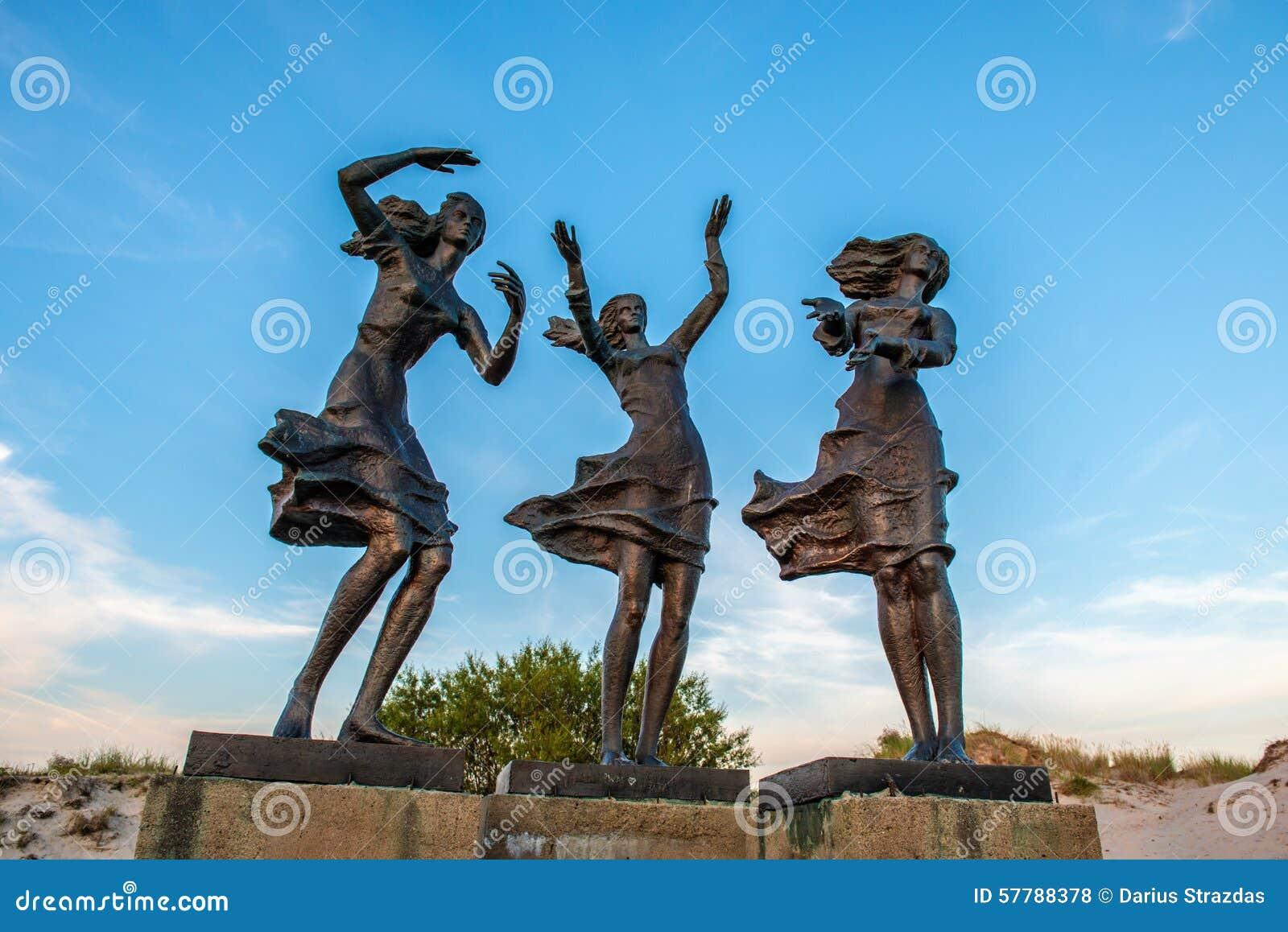Rzeźba w Sventoji