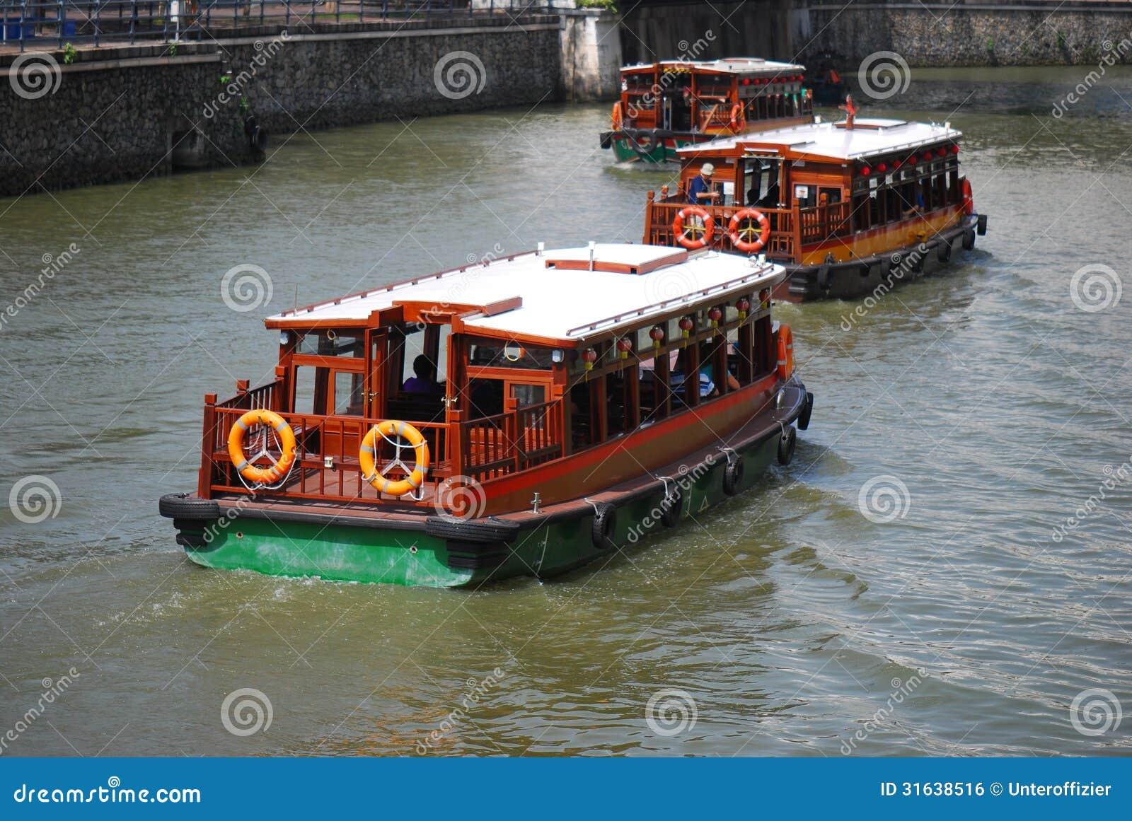 Rzeczne łodzie