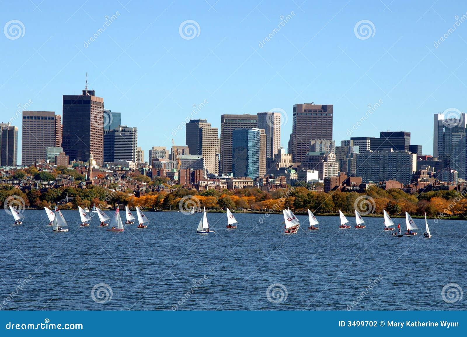Rzeka Charles bostonu