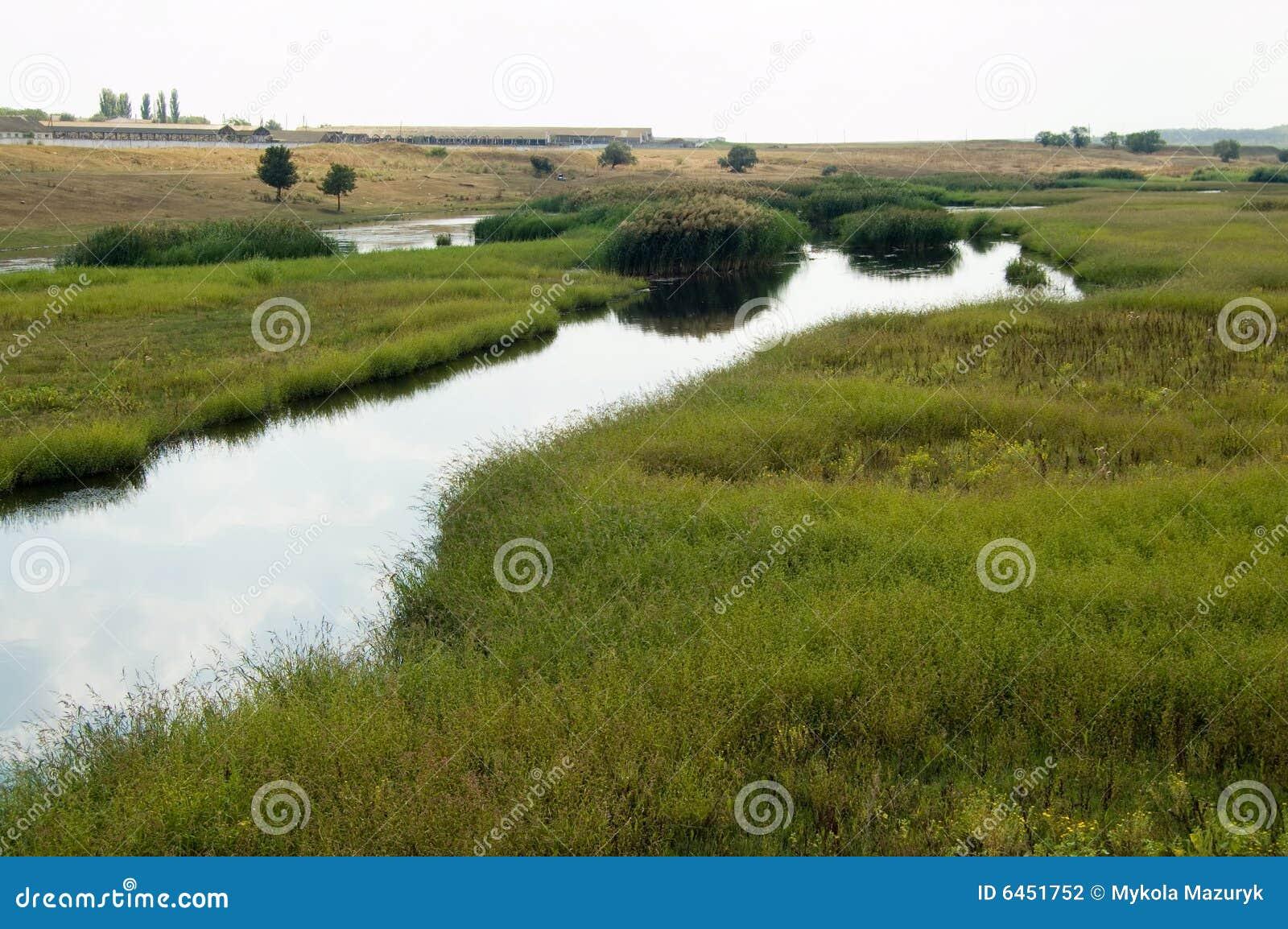 Rzeka stepy