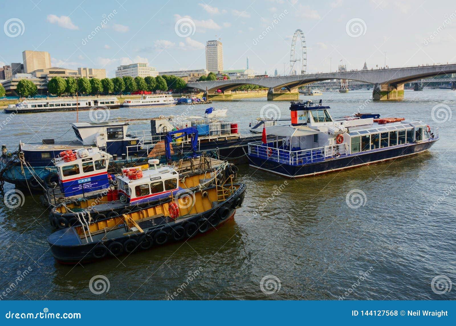 Rzeka Tamiza Po?udnie bank oko London