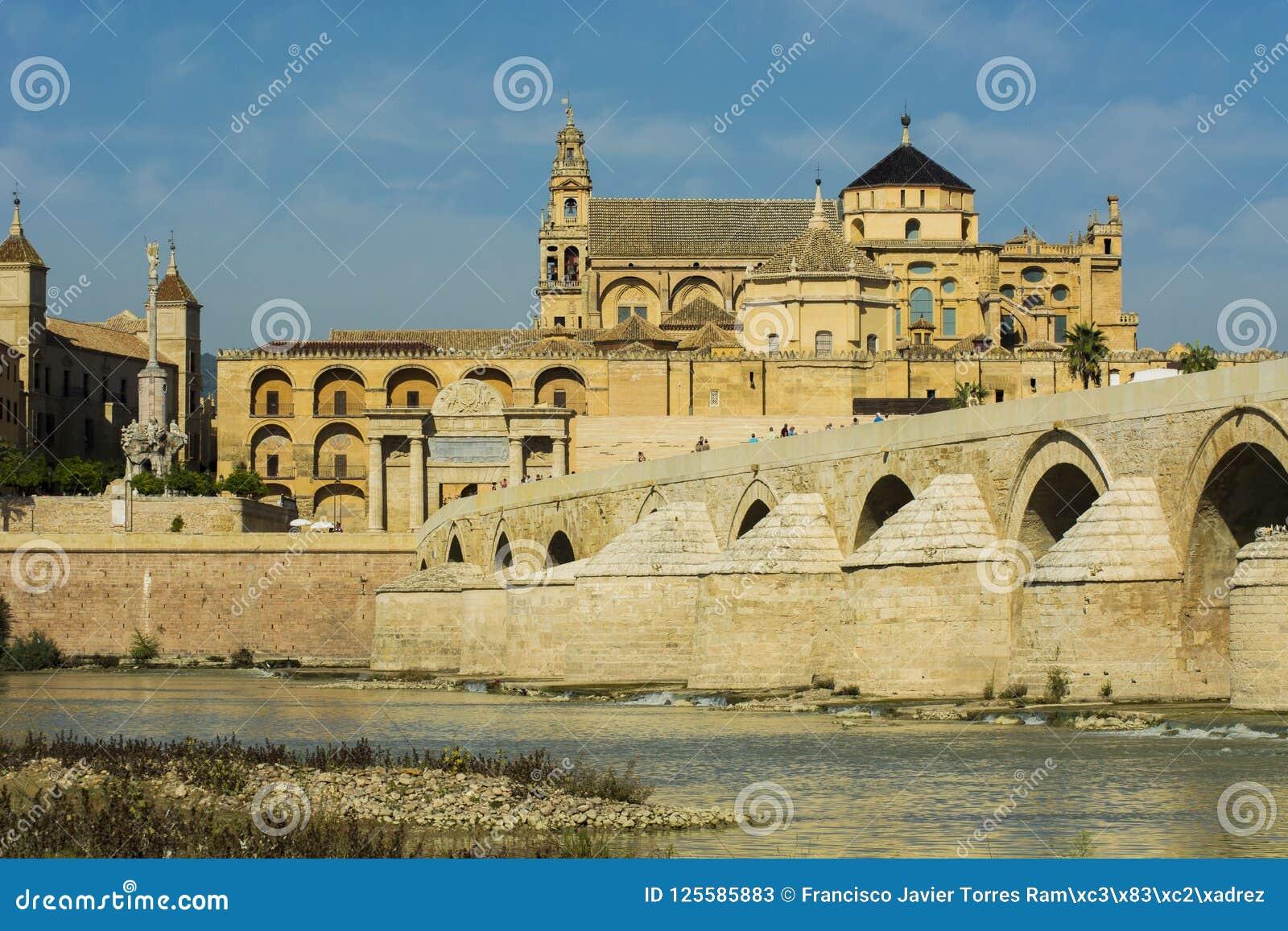 Rzymski cordoba bridżowy meczet
