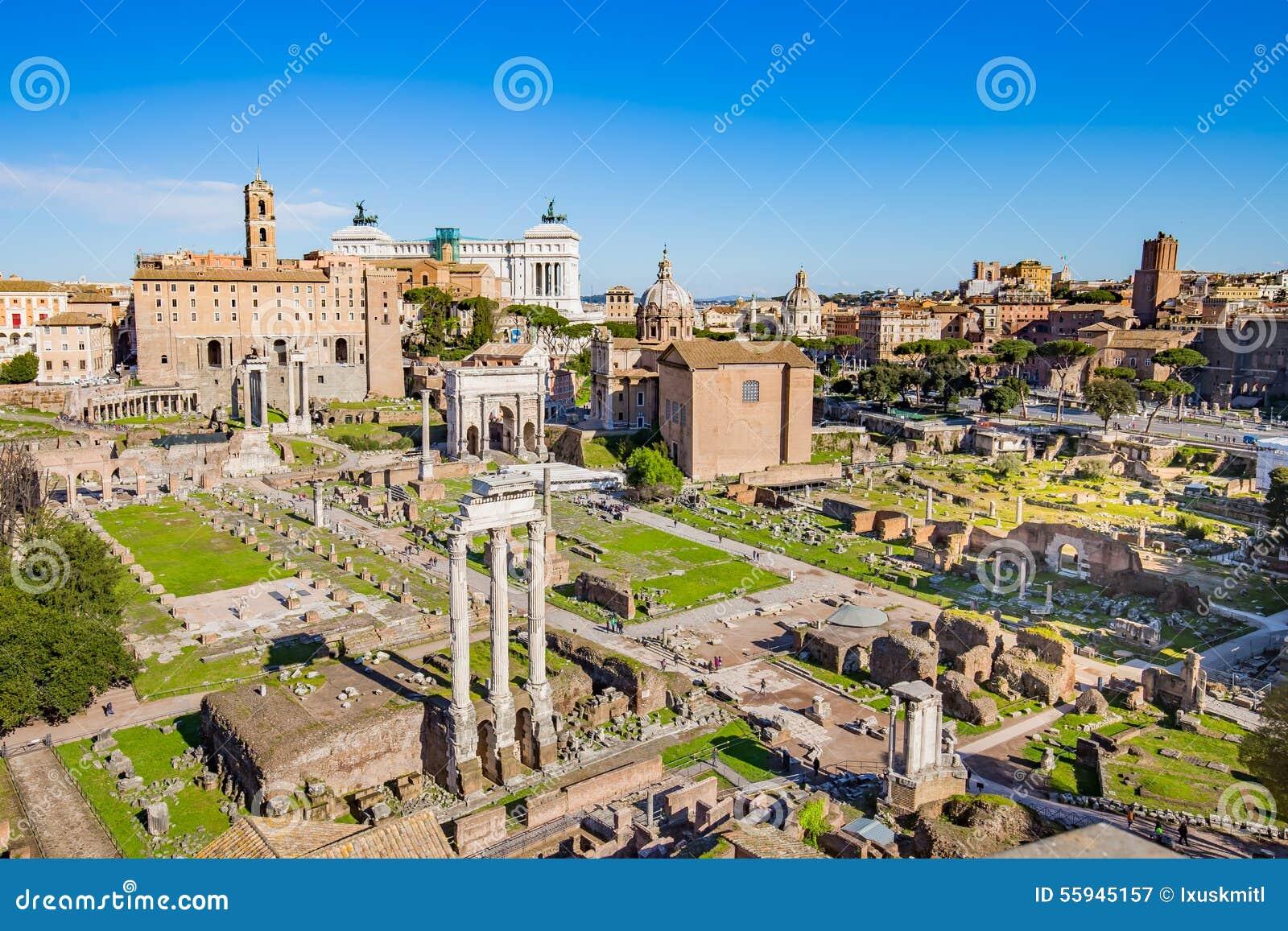 Rzymski forum w Rzym, Włochy