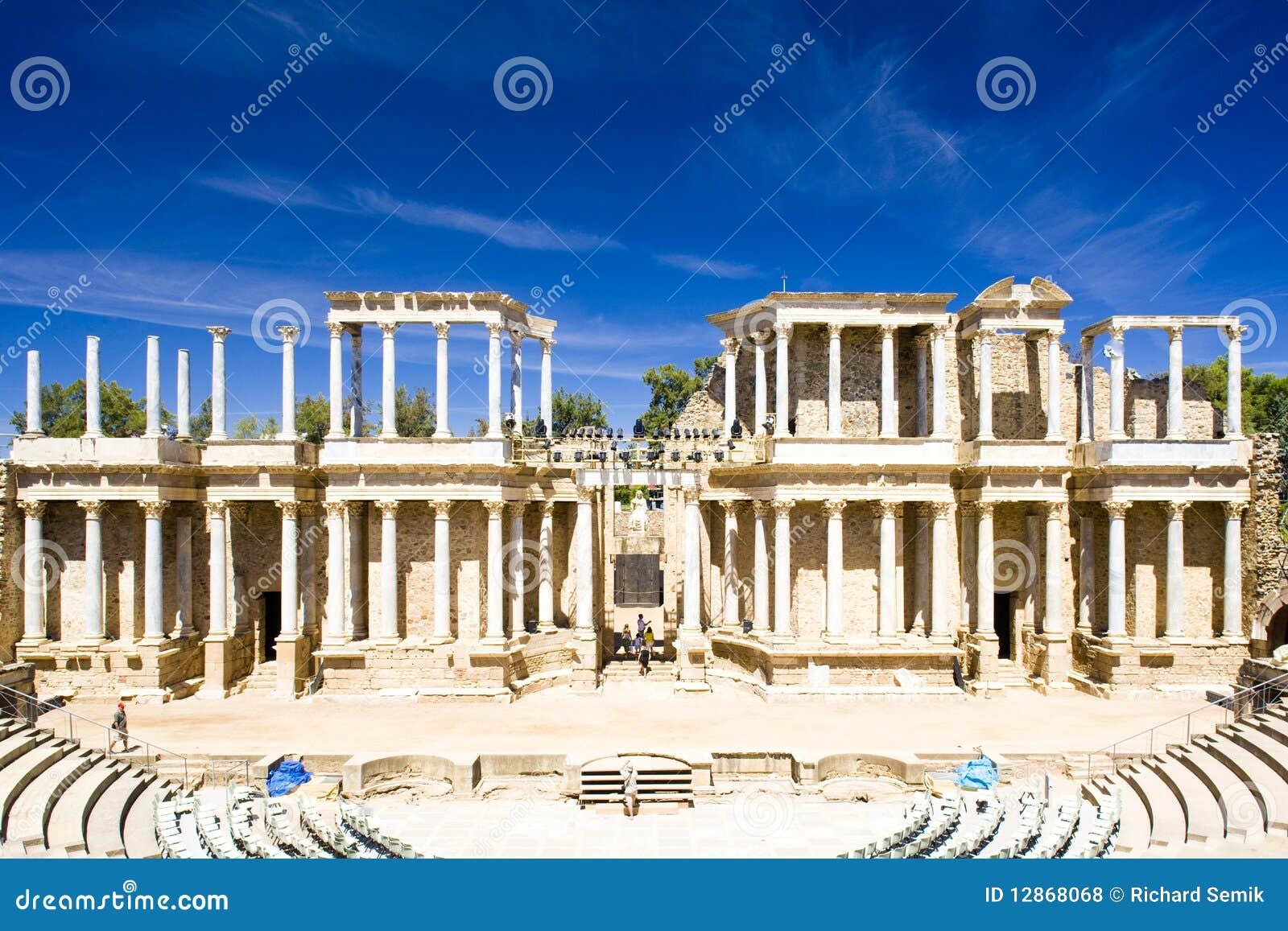 Rzymski Merida theatre