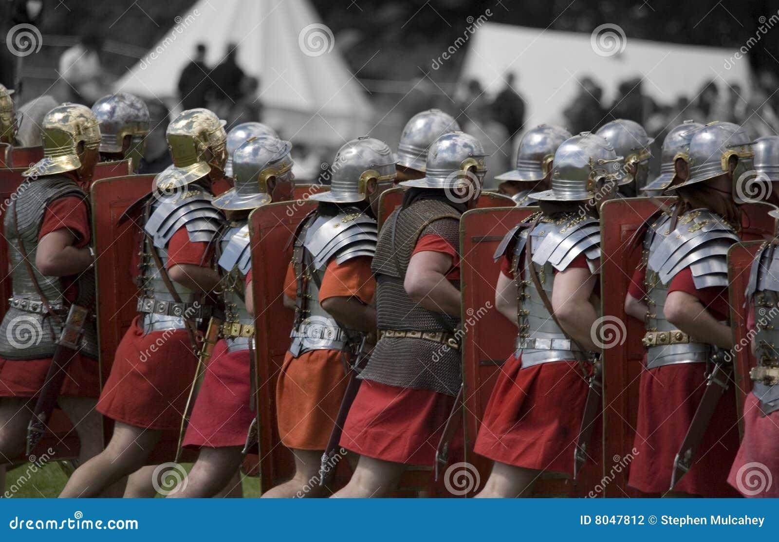 Rzymski militarny reenactment