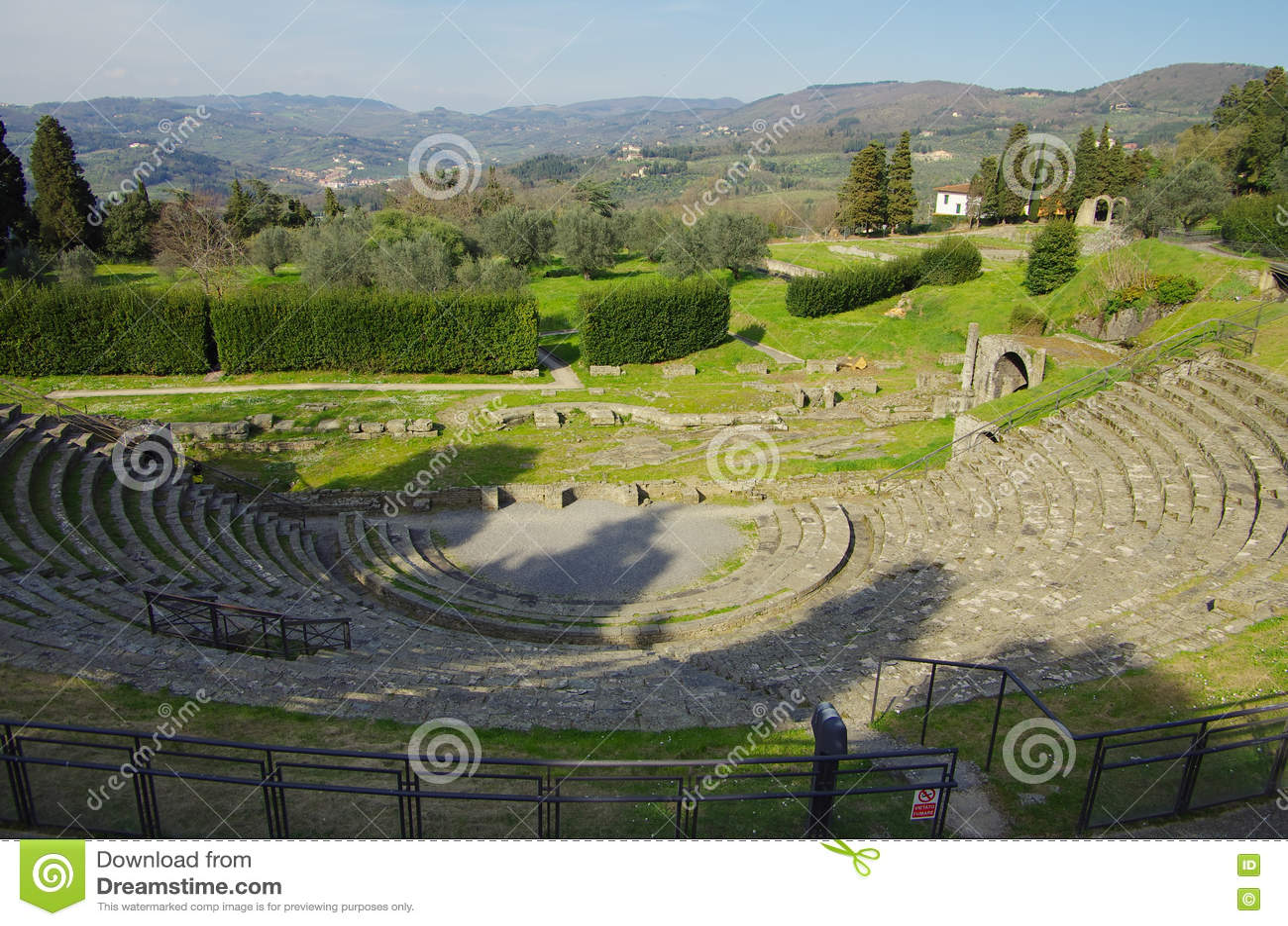 Rzymski teatr Fiesole