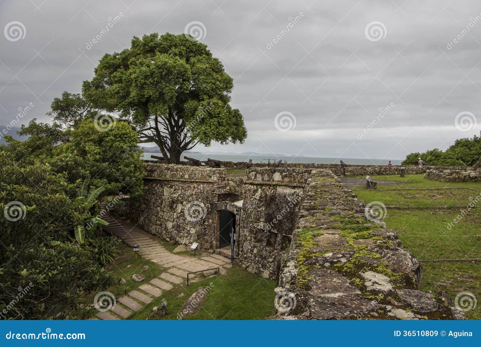 São José da Ponta Grossa Fortress - Florianópolis/SC - le Brésil