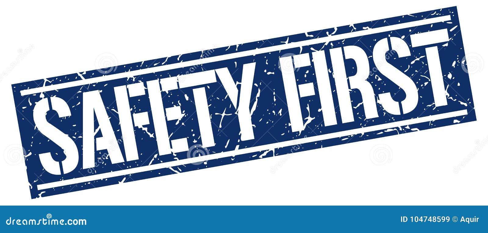 Säkerhet stämplar först
