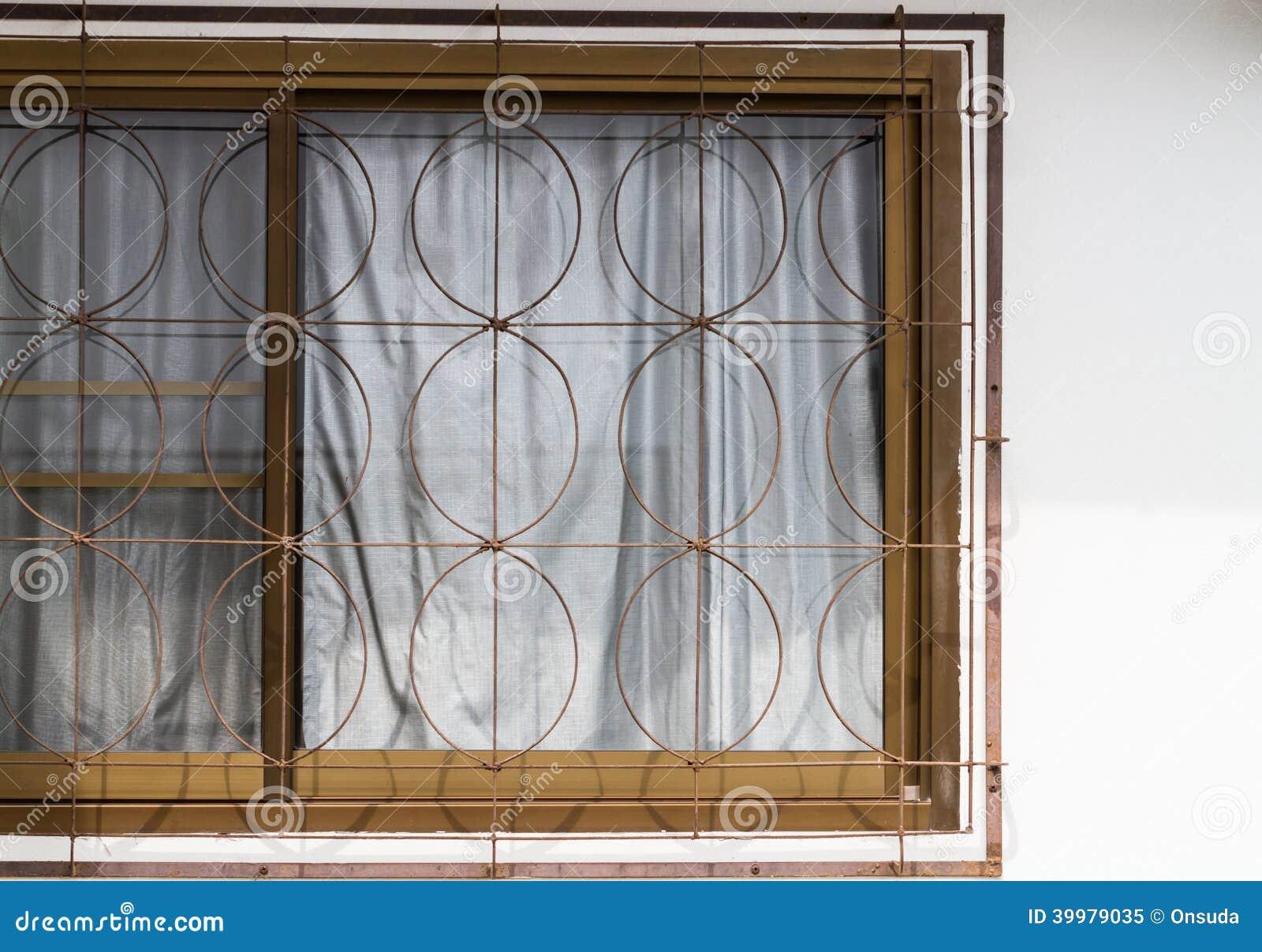 Fönster säkerhetsfönster : Säkerhetsfönster fotografering för bildbyrÃ¥er. Bild av struktur ...