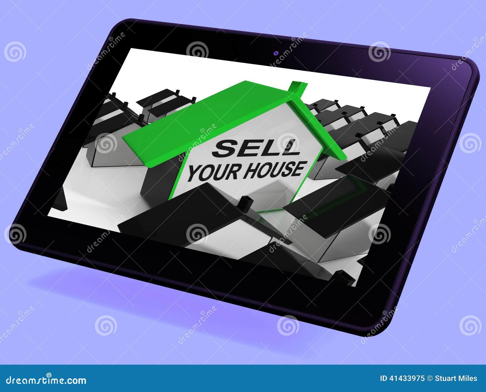 Sälj ditt hjälpmedel för hushemminnestavlan som marknadsför egenskapen