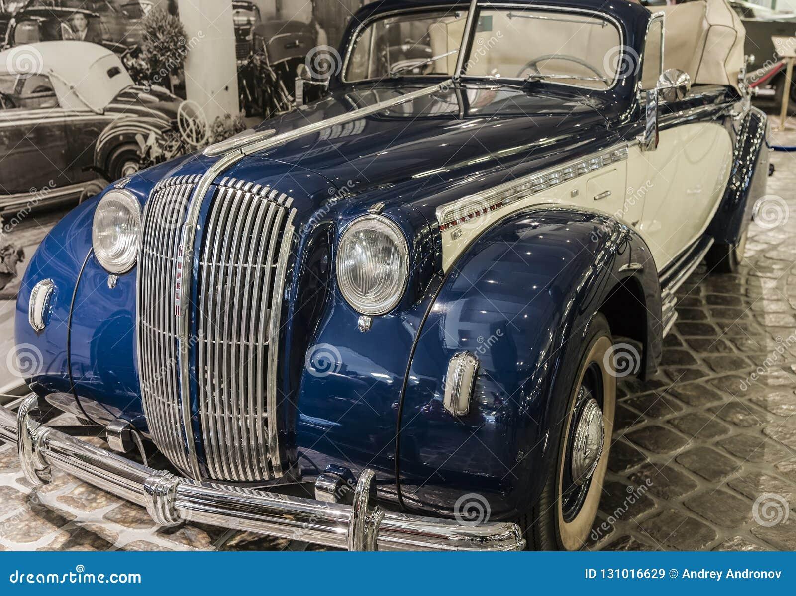 Sällsynt bilmodell Opel Admiral