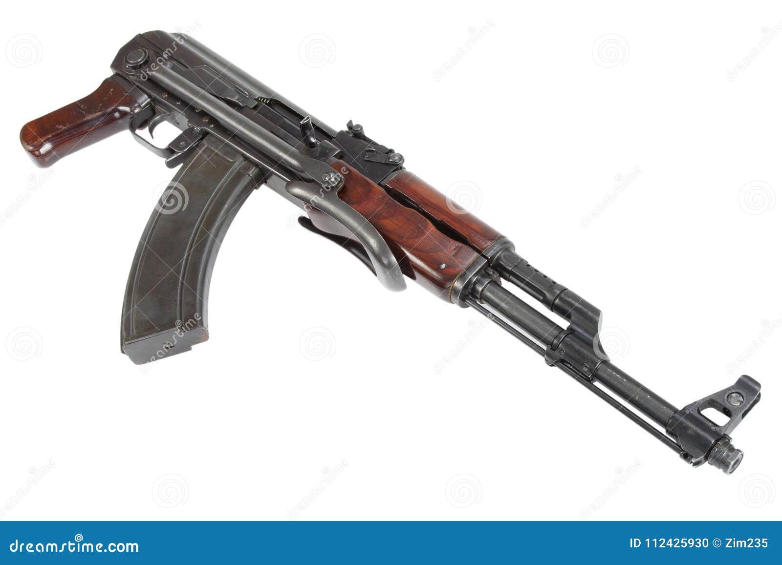 Sällsynt första modell AK - gevär för anfall som 47 isoleras på vit