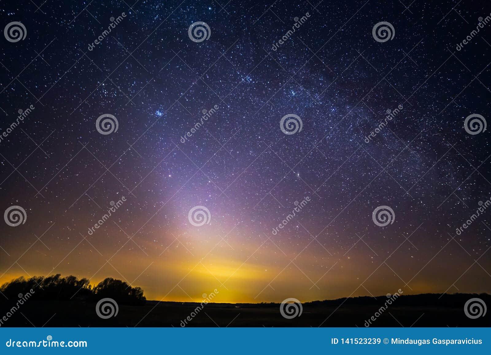 Sällsynt fenomen - Zodiacal ljus