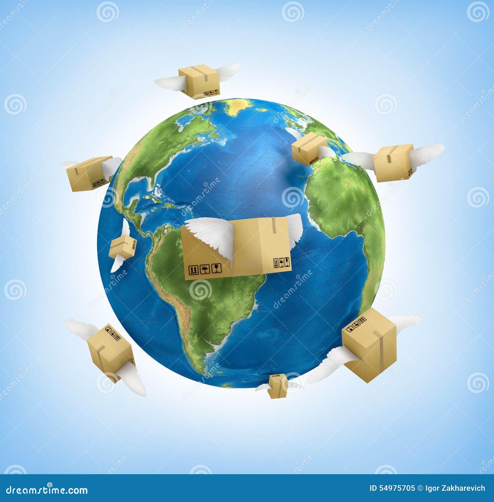 Sändning över hela världen