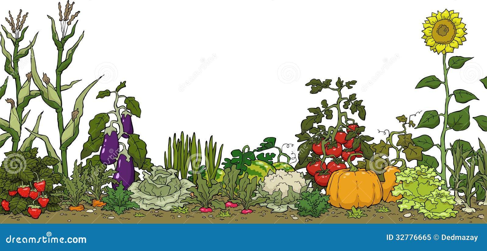 Säng för grönsakträdgård