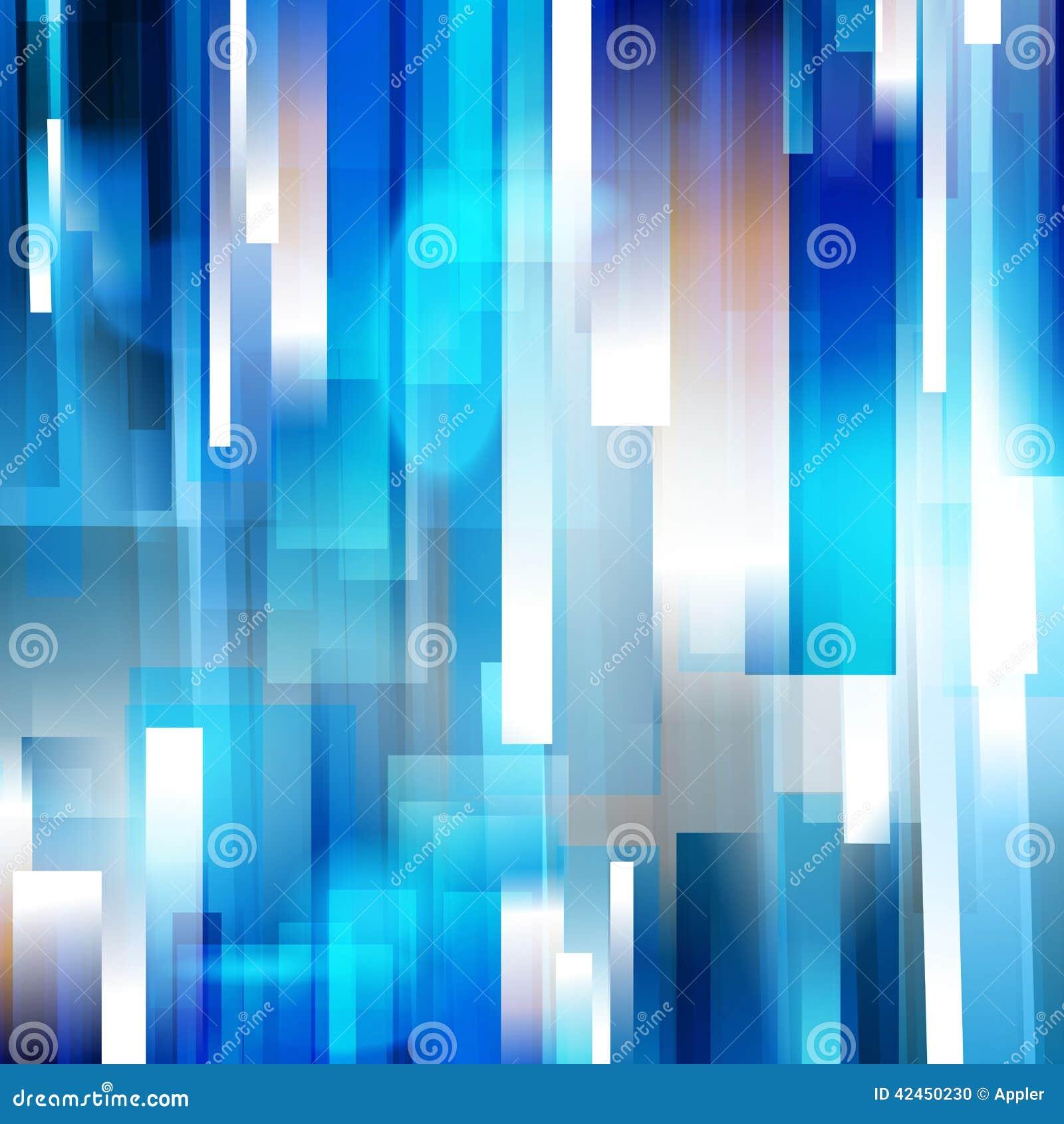 Säubern Sie linearen Hintergrund der blauen Geschwindigkeit