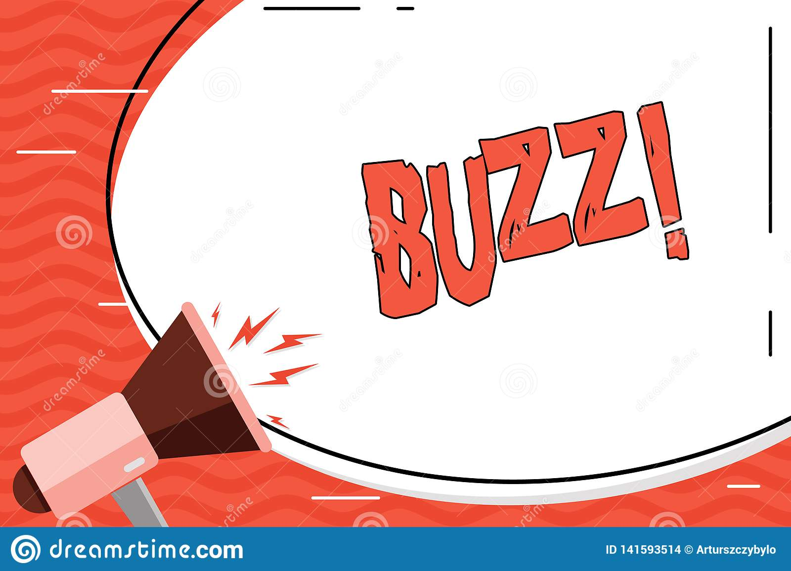 Słowa writing teksta brzęczenie Biznesowy pojęcie dla brzęczenia mruczenia trutnia Fizz pierścionku Sibilation Pyrka Alarmowego B