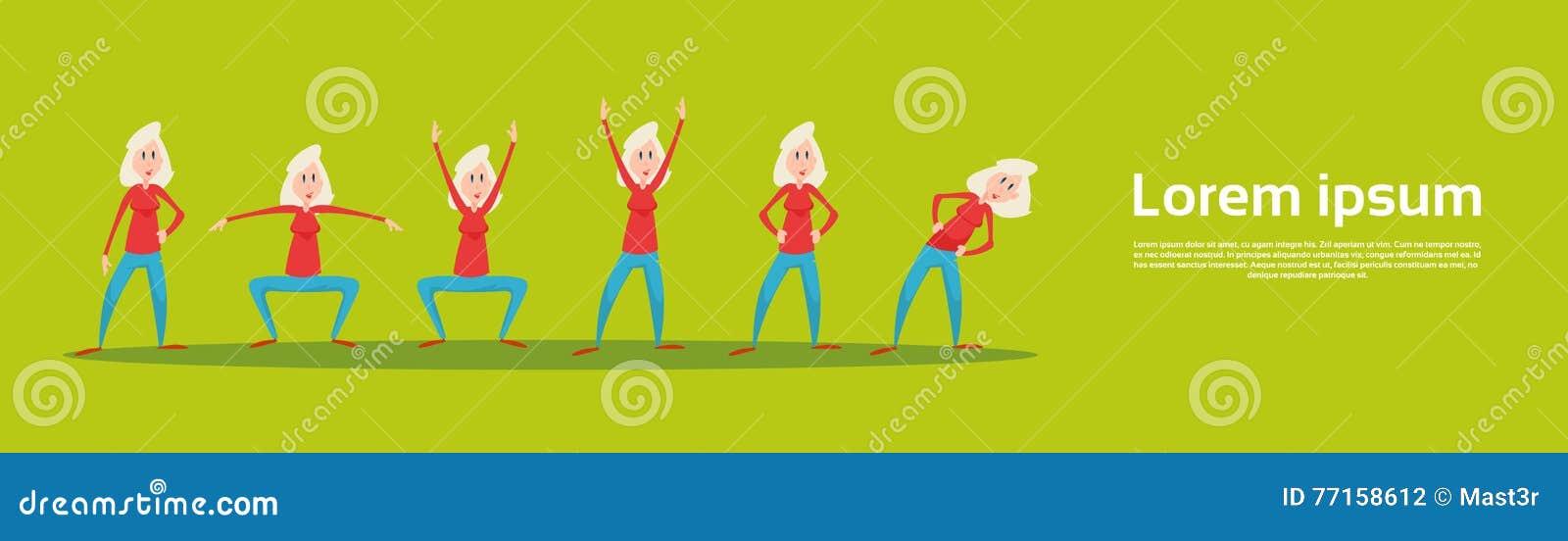 Séance d entraînement supérieure d ensemble d exercice de forme physique de sport de femme