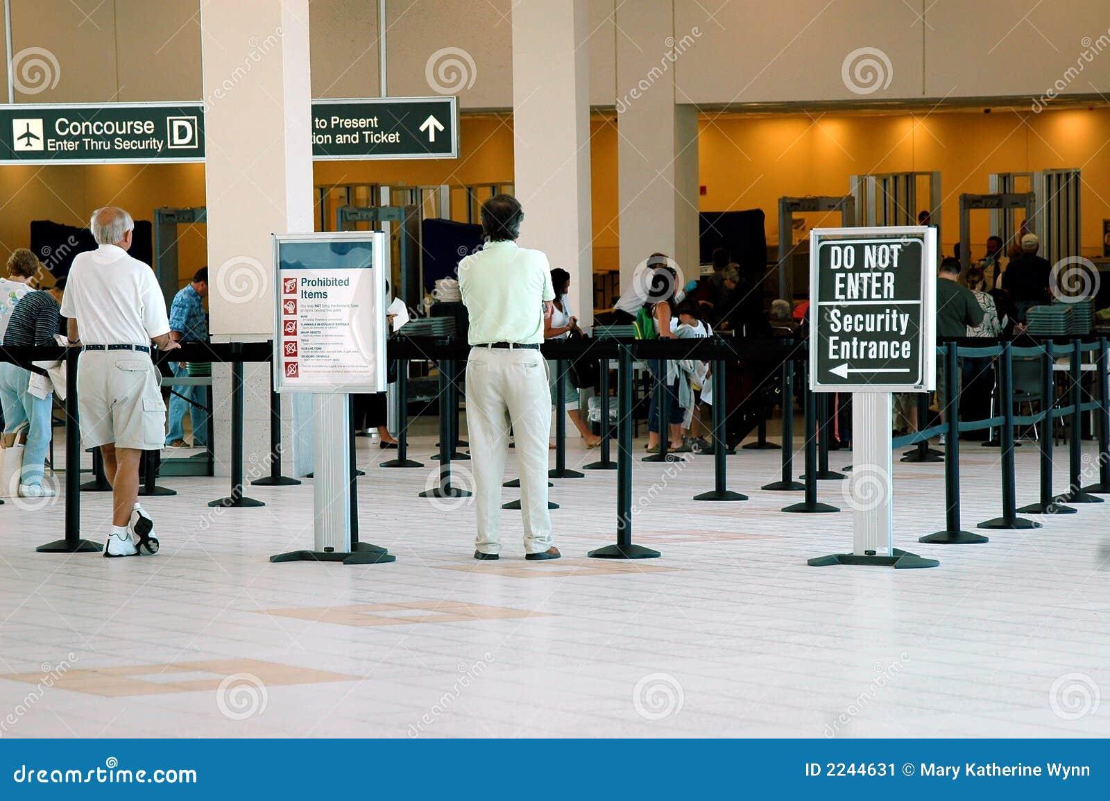 Sécurité dans les aéroports