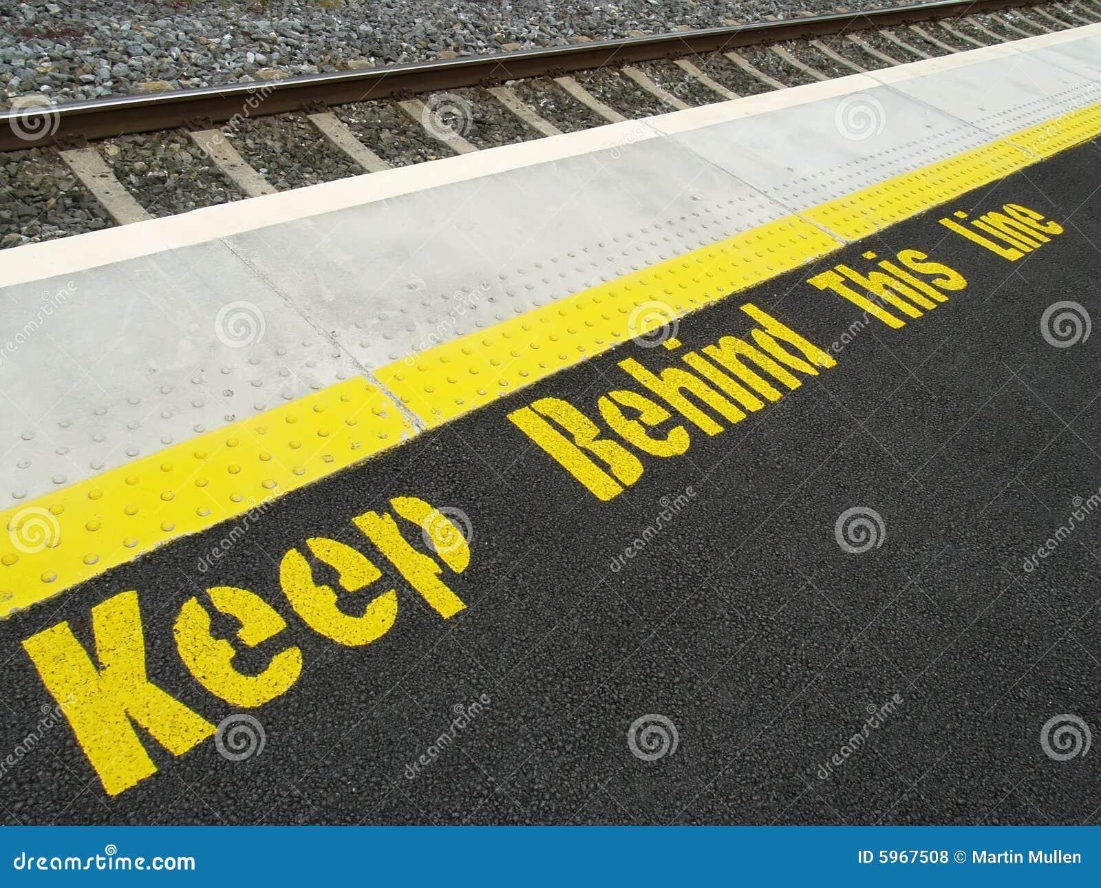 Sécurité de station de train
