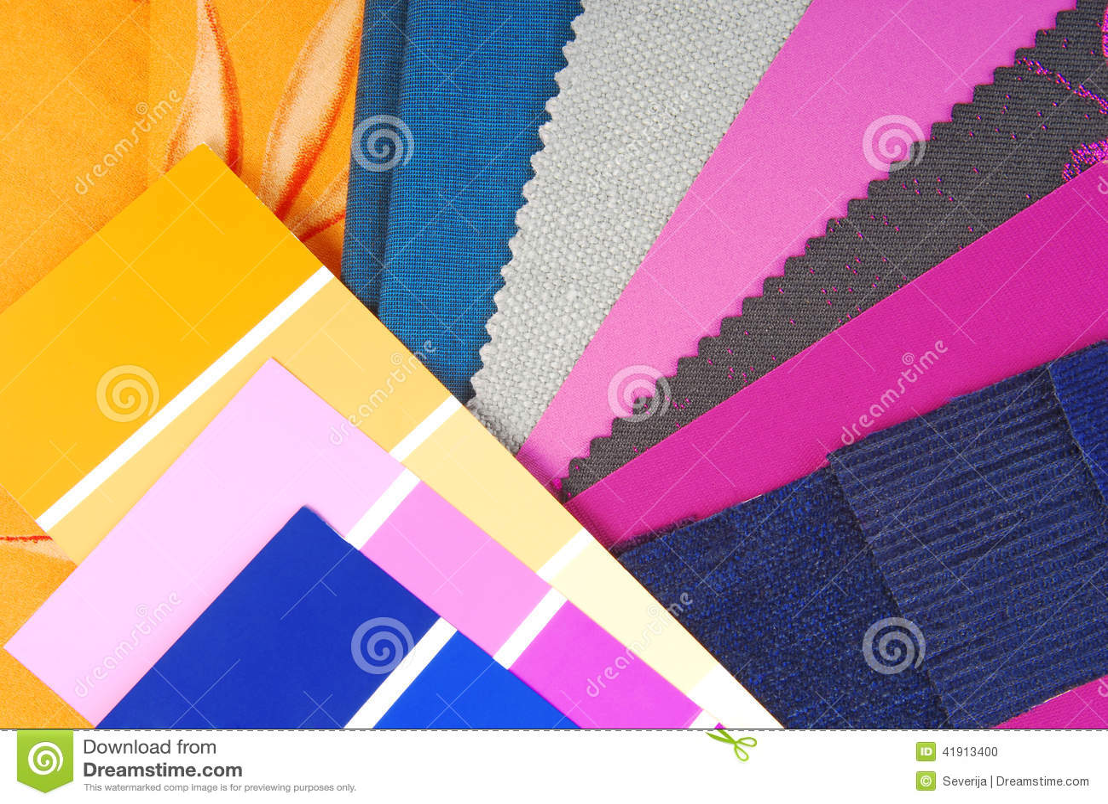 Sélection de conception de couleur