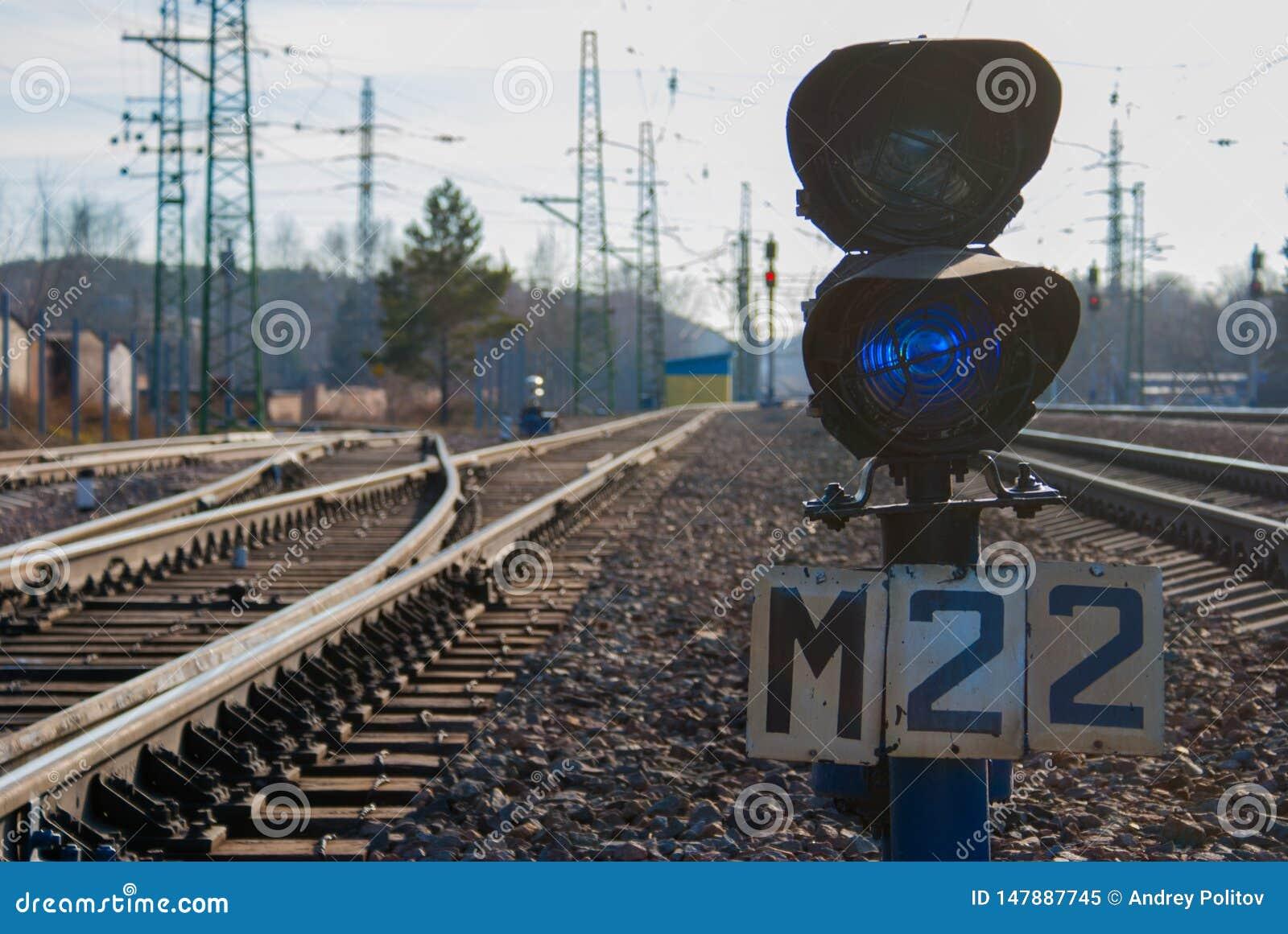 S?maphores ferroviaires de commutateur et de train