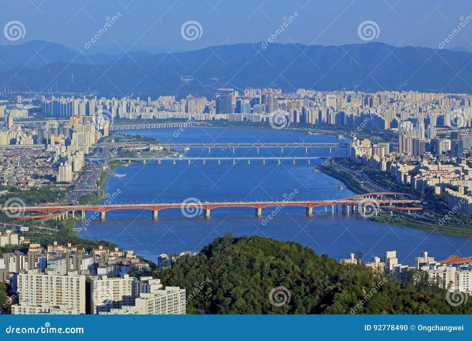 Séoul Han River Cityscape