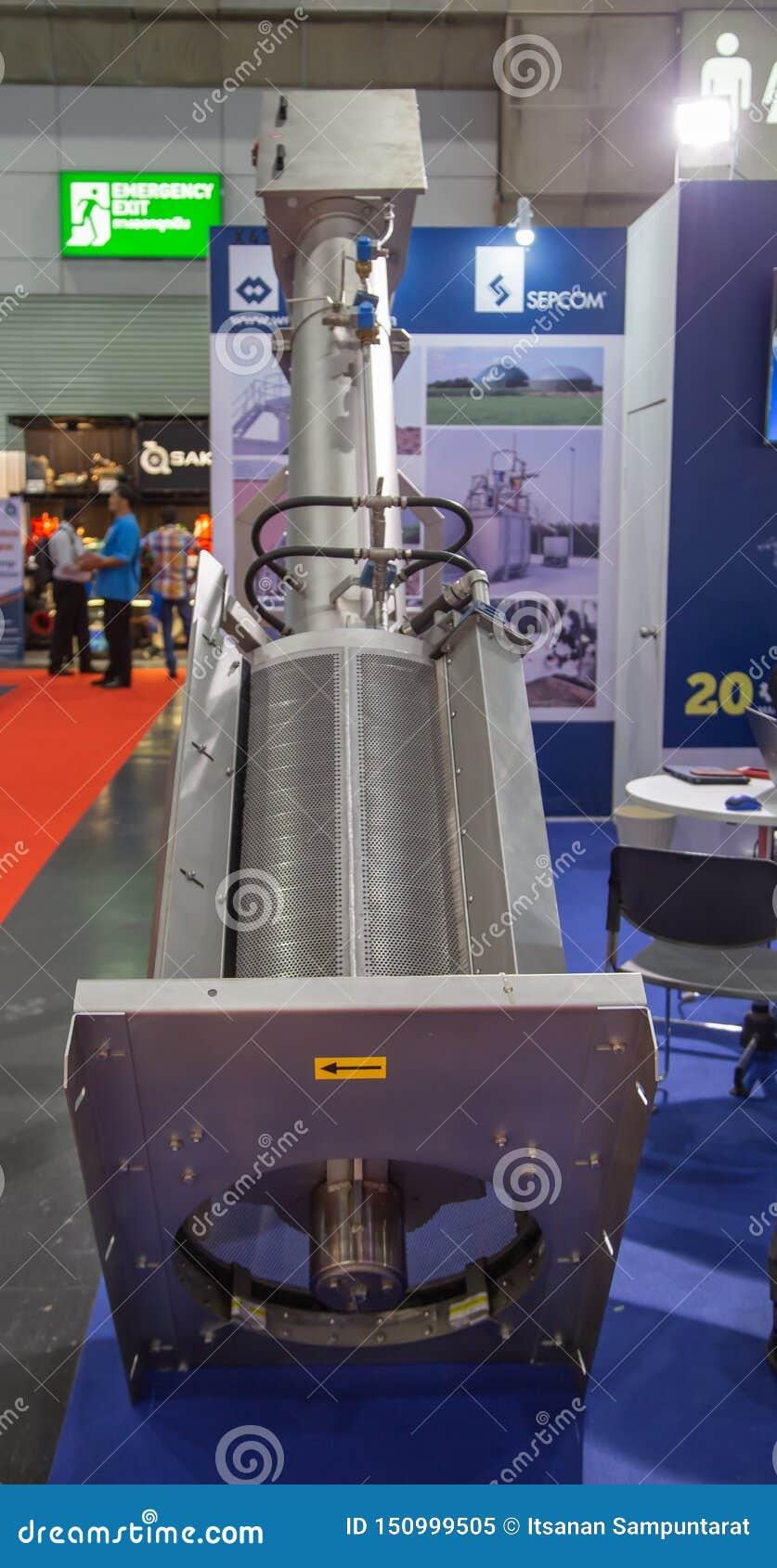 Séparateur de presse à vis de solide-liquide
