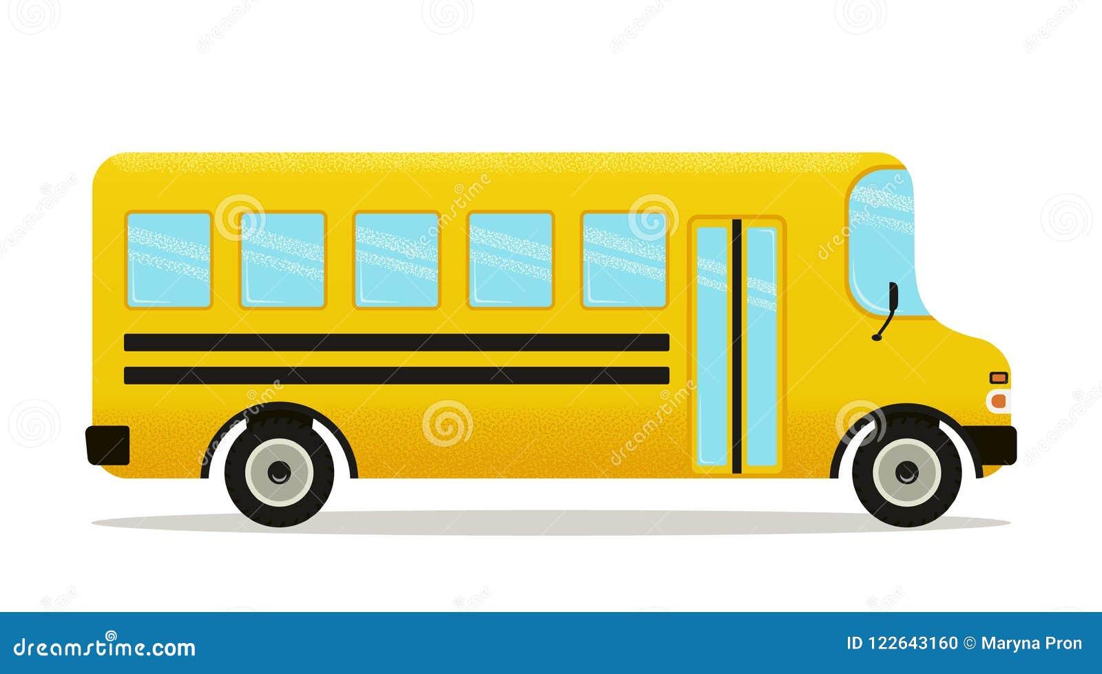 Série D Autobus Scolaire 1 Illustration De Vecteur