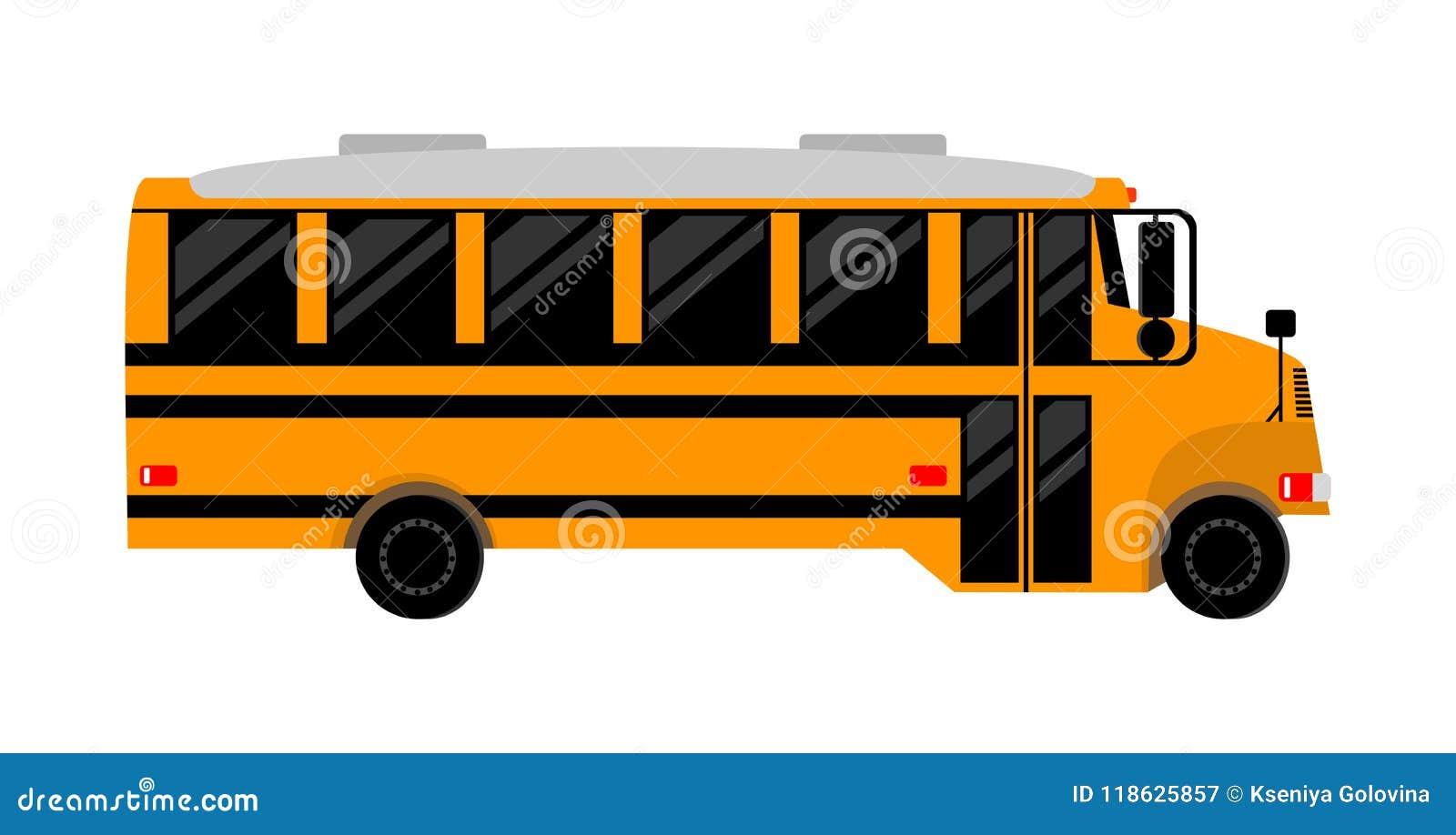 Série d autobus scolaire - 1 Image d isolement
