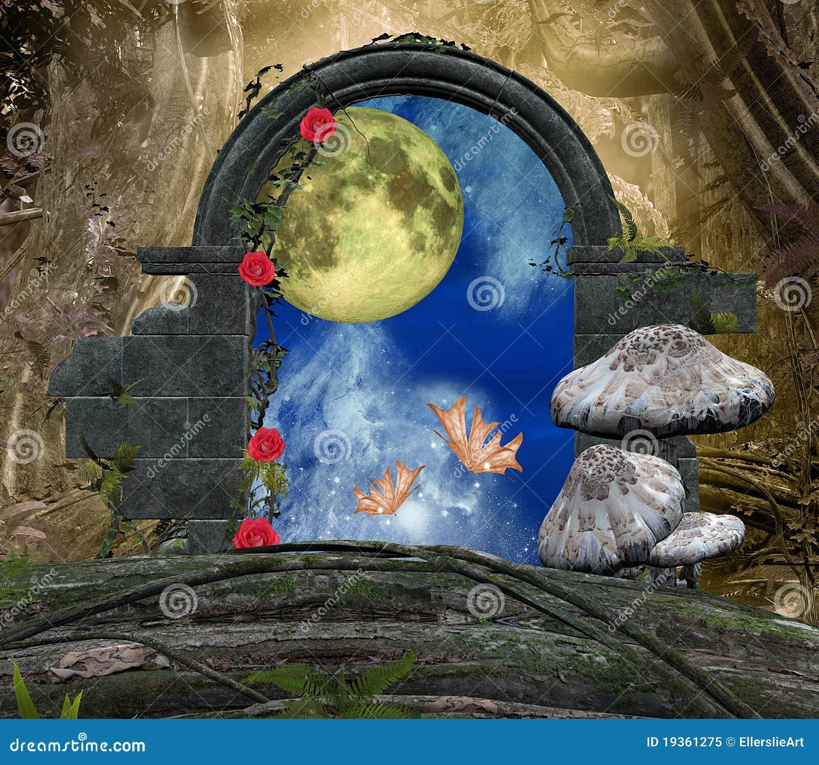 A série da passagem secreta - uma lua romântica